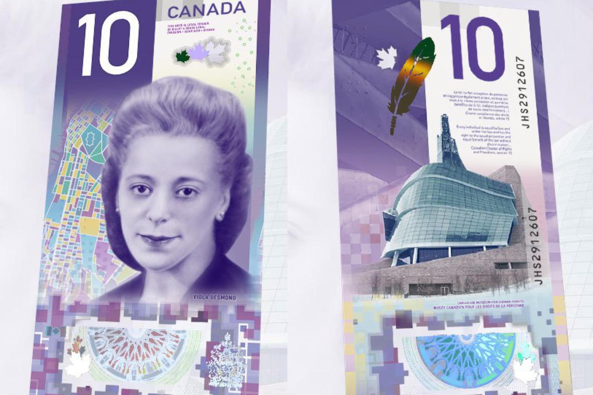 10 Dollar Bill Canada