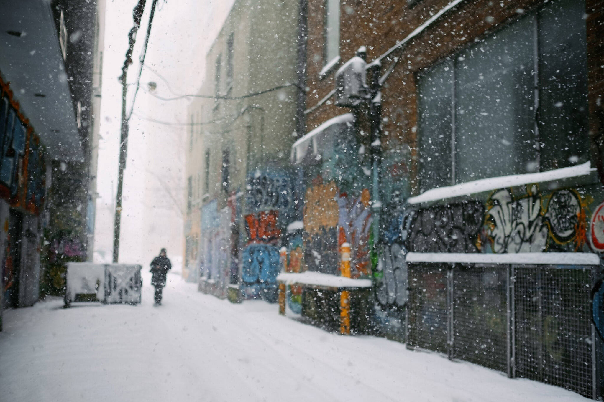 toronto snow novermber
