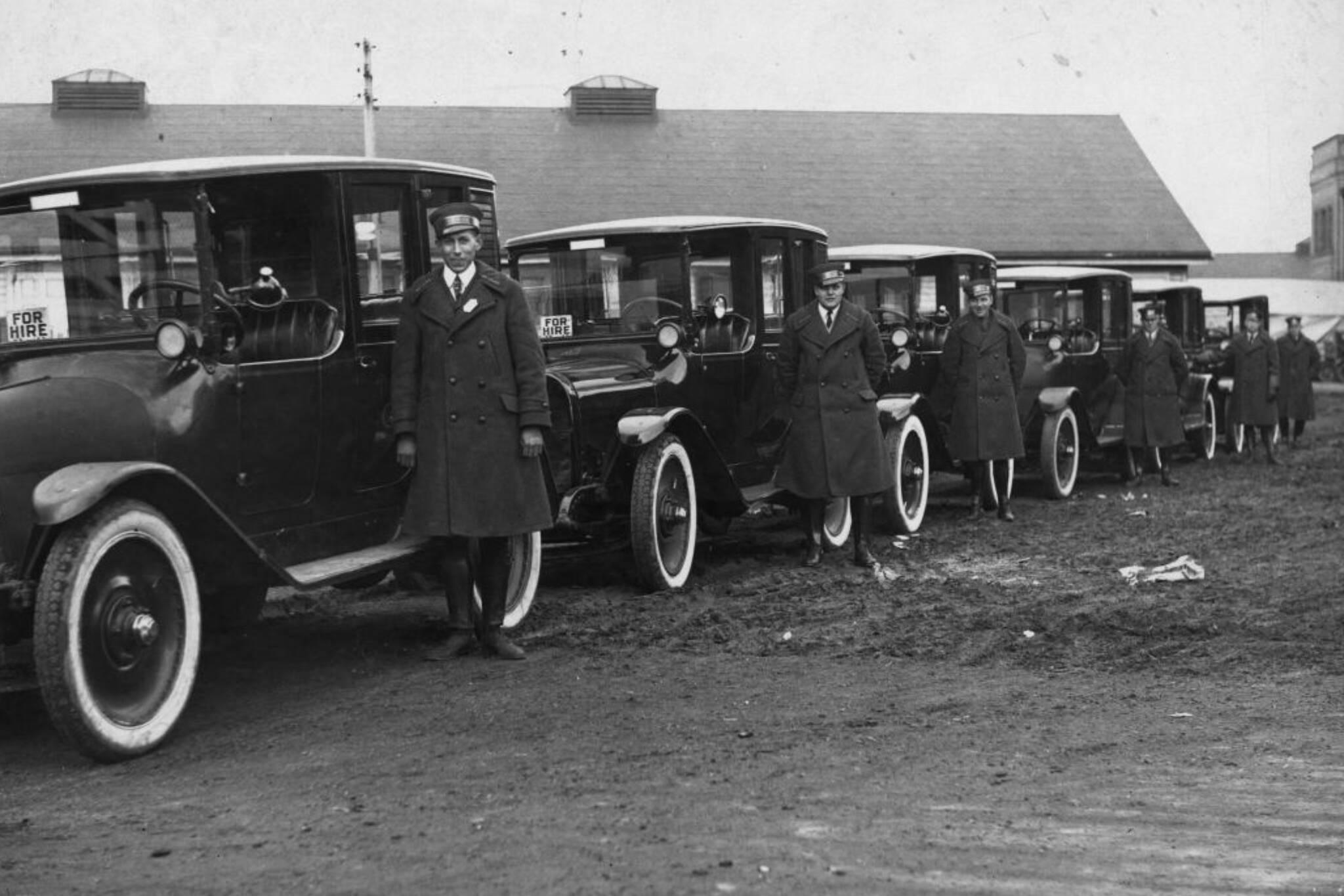 Toronto taxis history