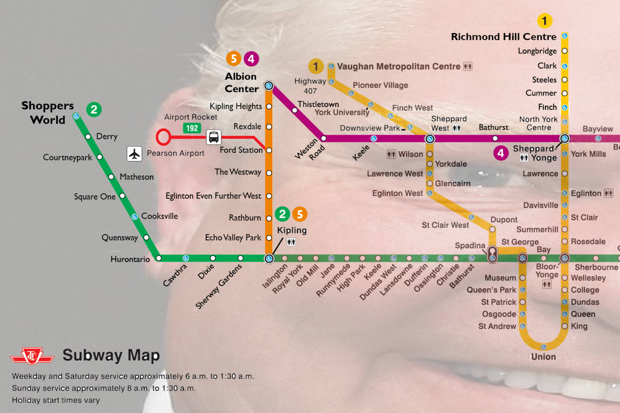 Fantasy Toronto Subway Map.Someone Just Created A Ttc Subway Fantasy Map To The Suburbs