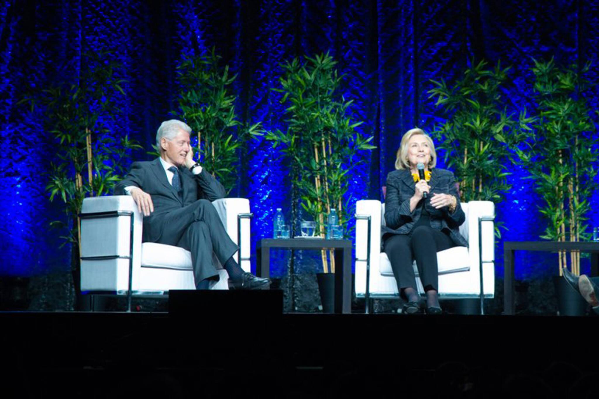 Bill Hillary Clinton Toronto