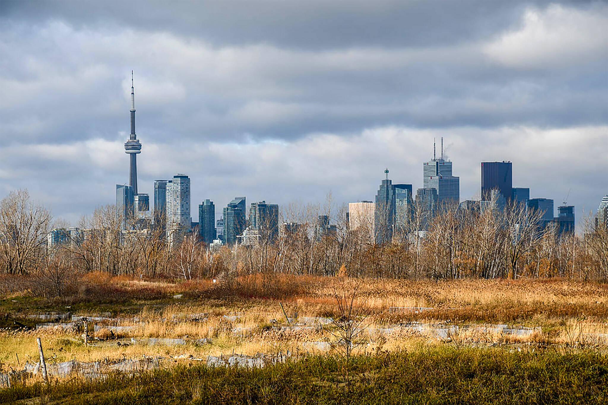 Toronto cloud cover