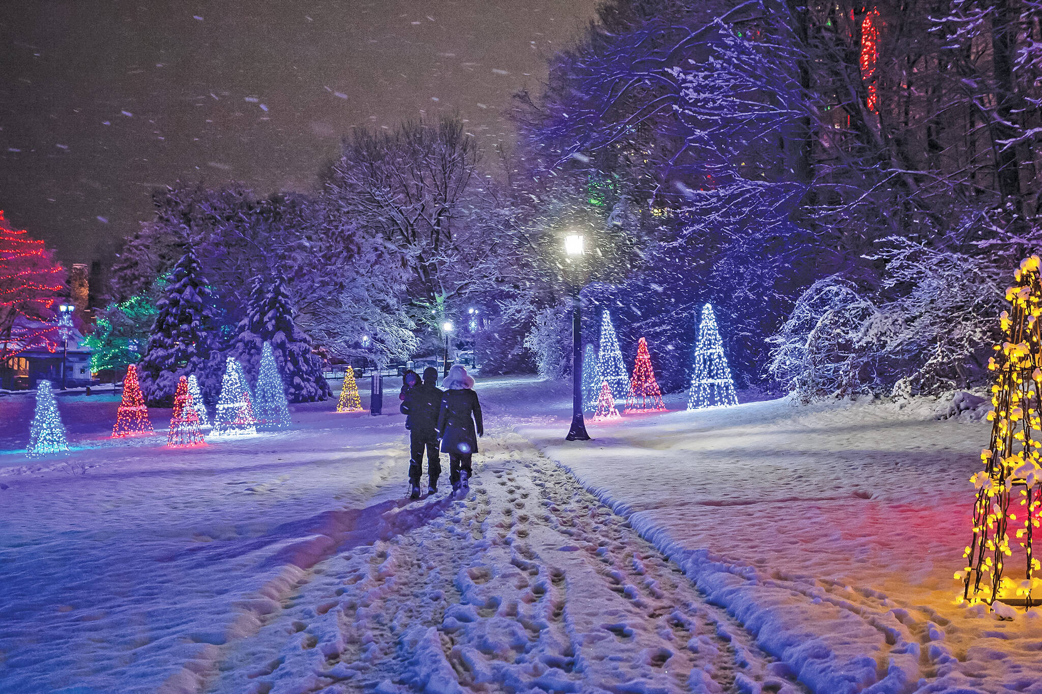 Niagara Falls is throwing a huge holiday lights festival