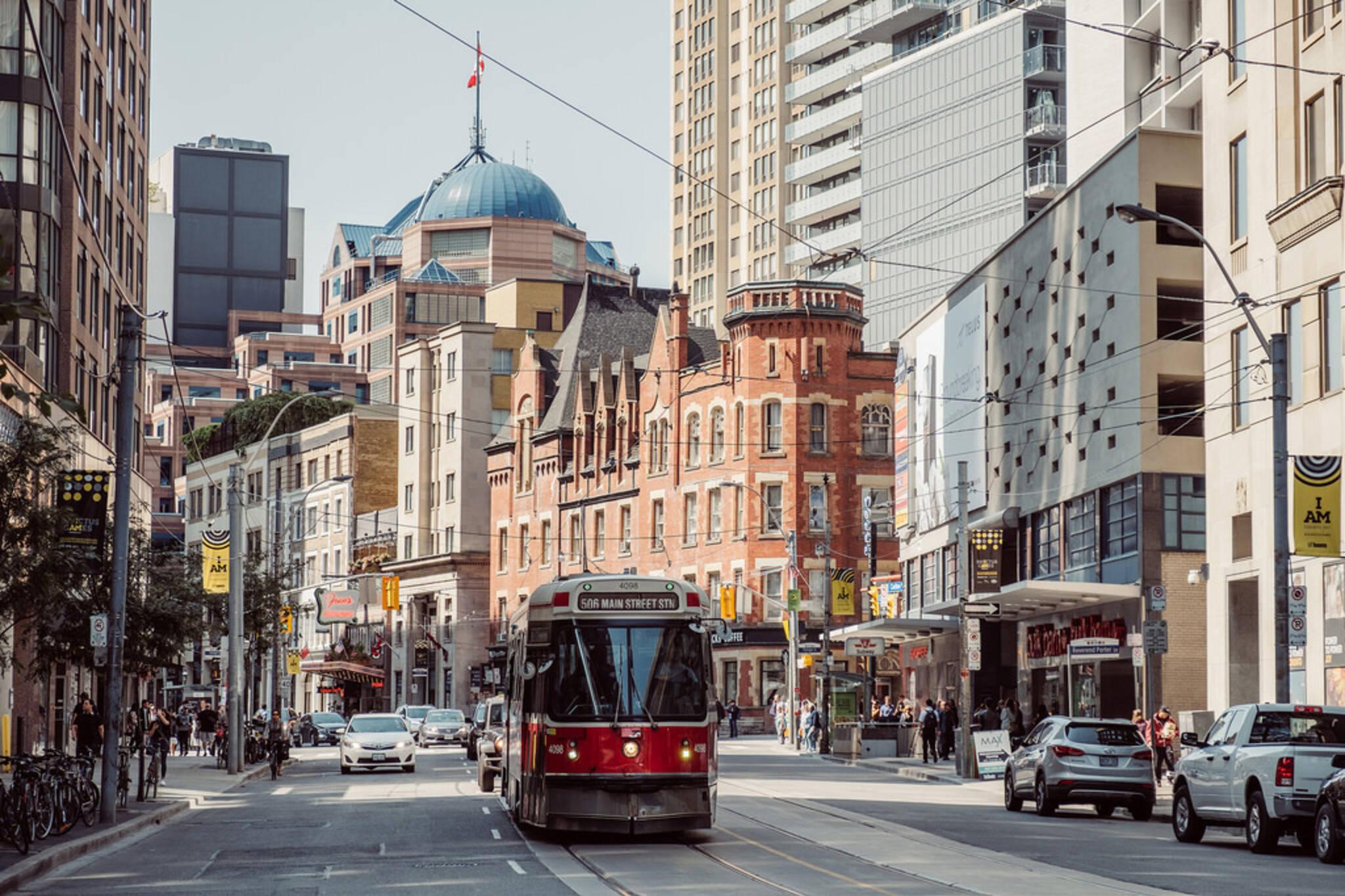 ttc streetcar dundas