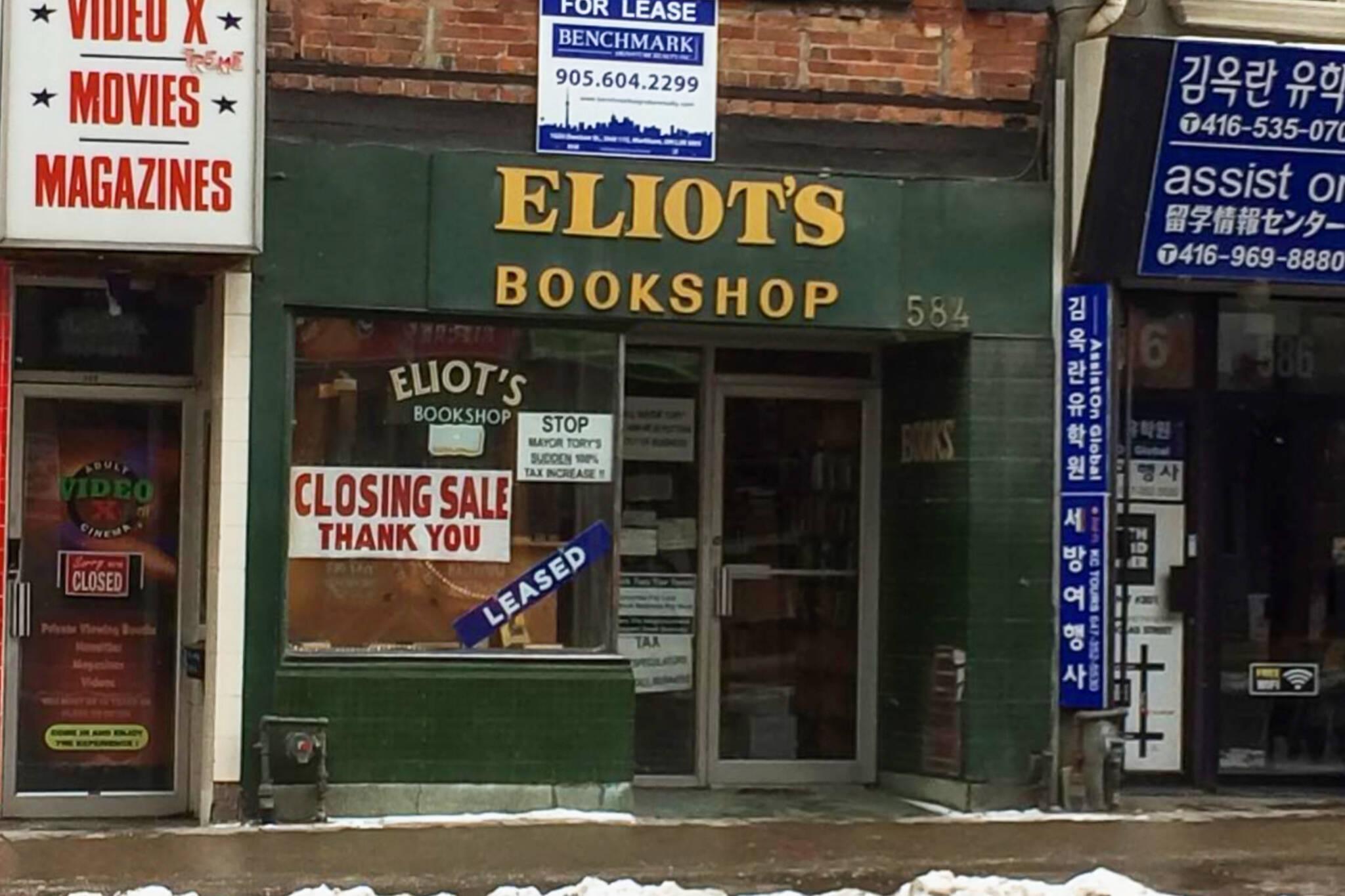 toronto businesses closed