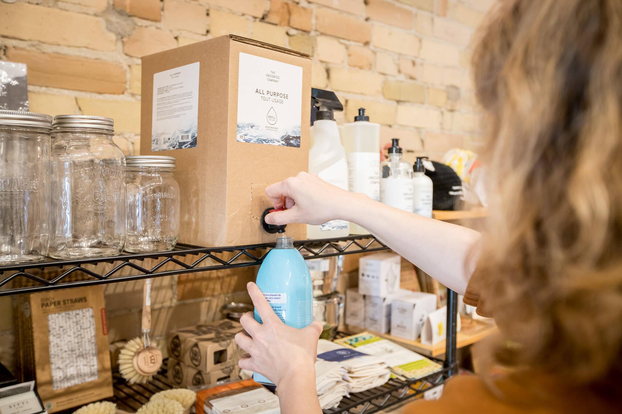 toronto reduced packaging waste free