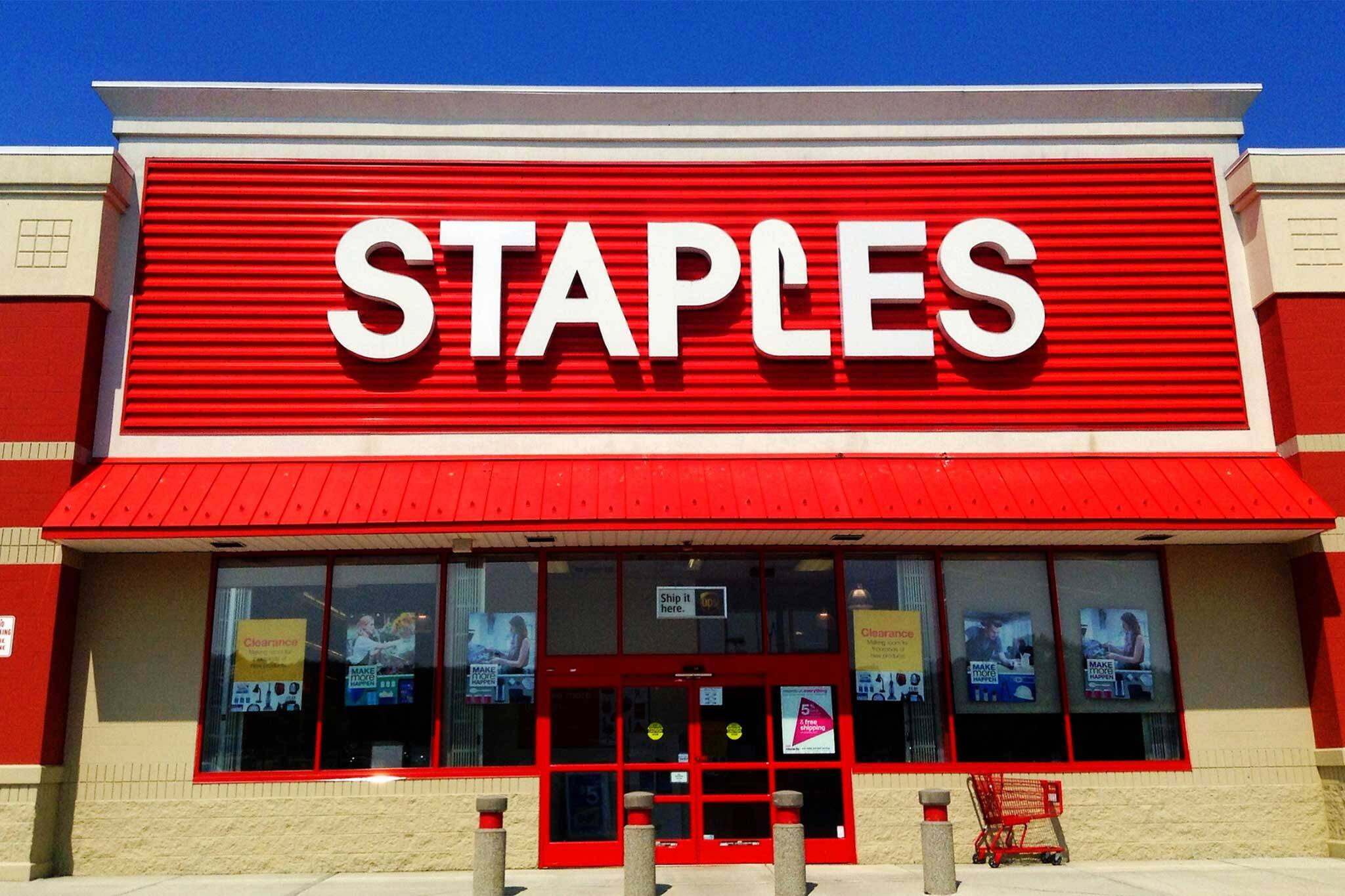 staples coworking