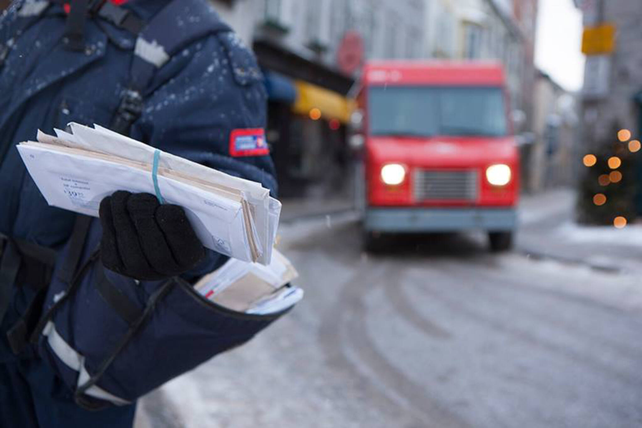 Canada Post Christmas deliveries