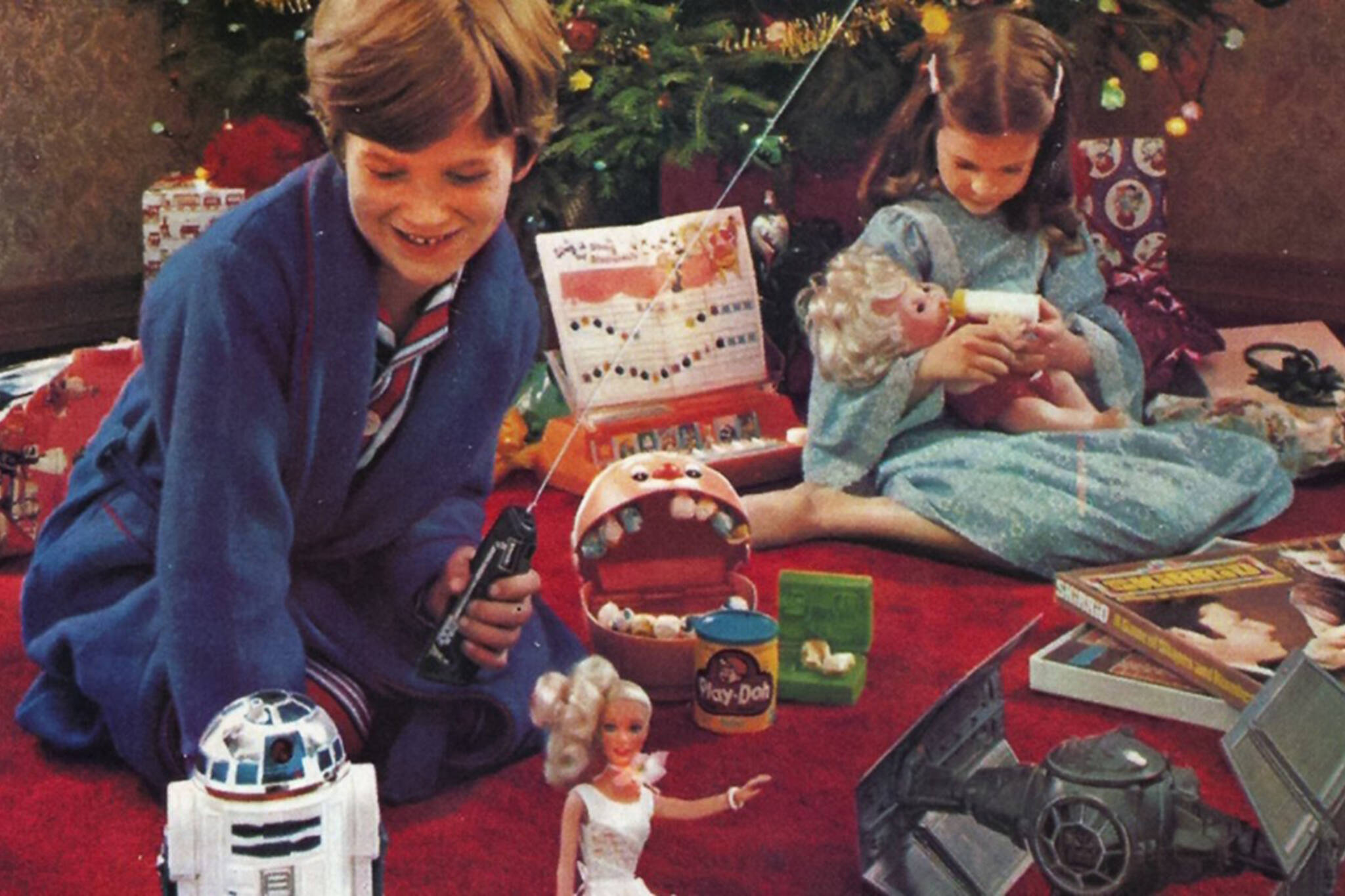 Retro Christmas.25 Retro Christmas Ads That Toronto Kids Will Remember