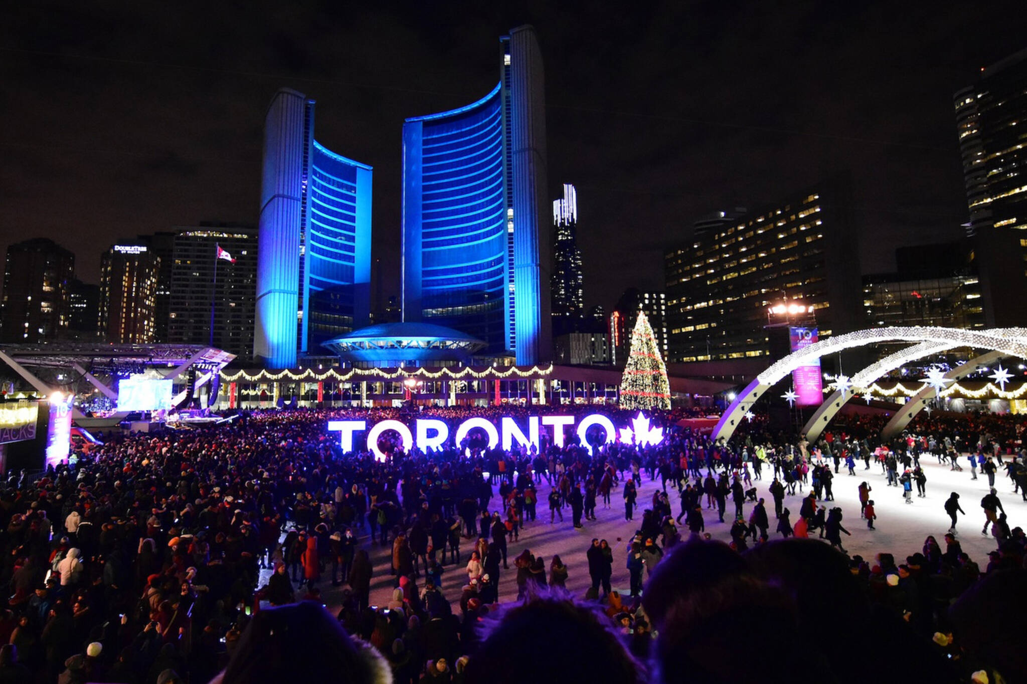 10 free things to do on New Year's Eve in Toronto