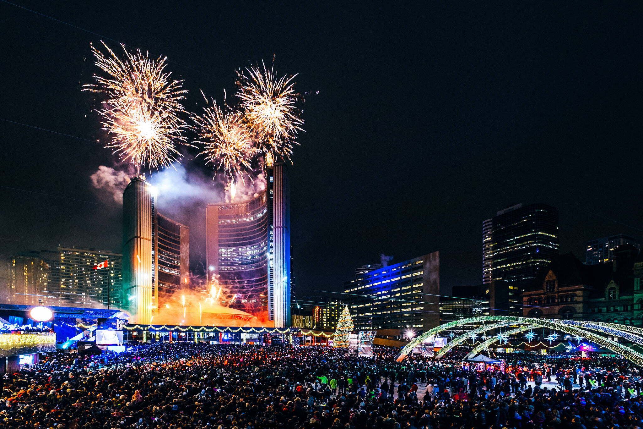 New Years Eve Road Closures Toronto