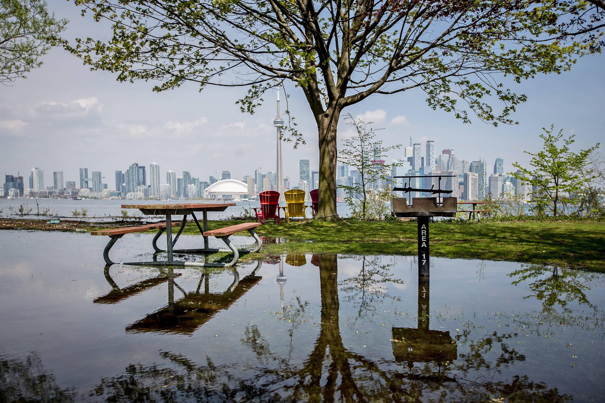 Toronto Island Floods