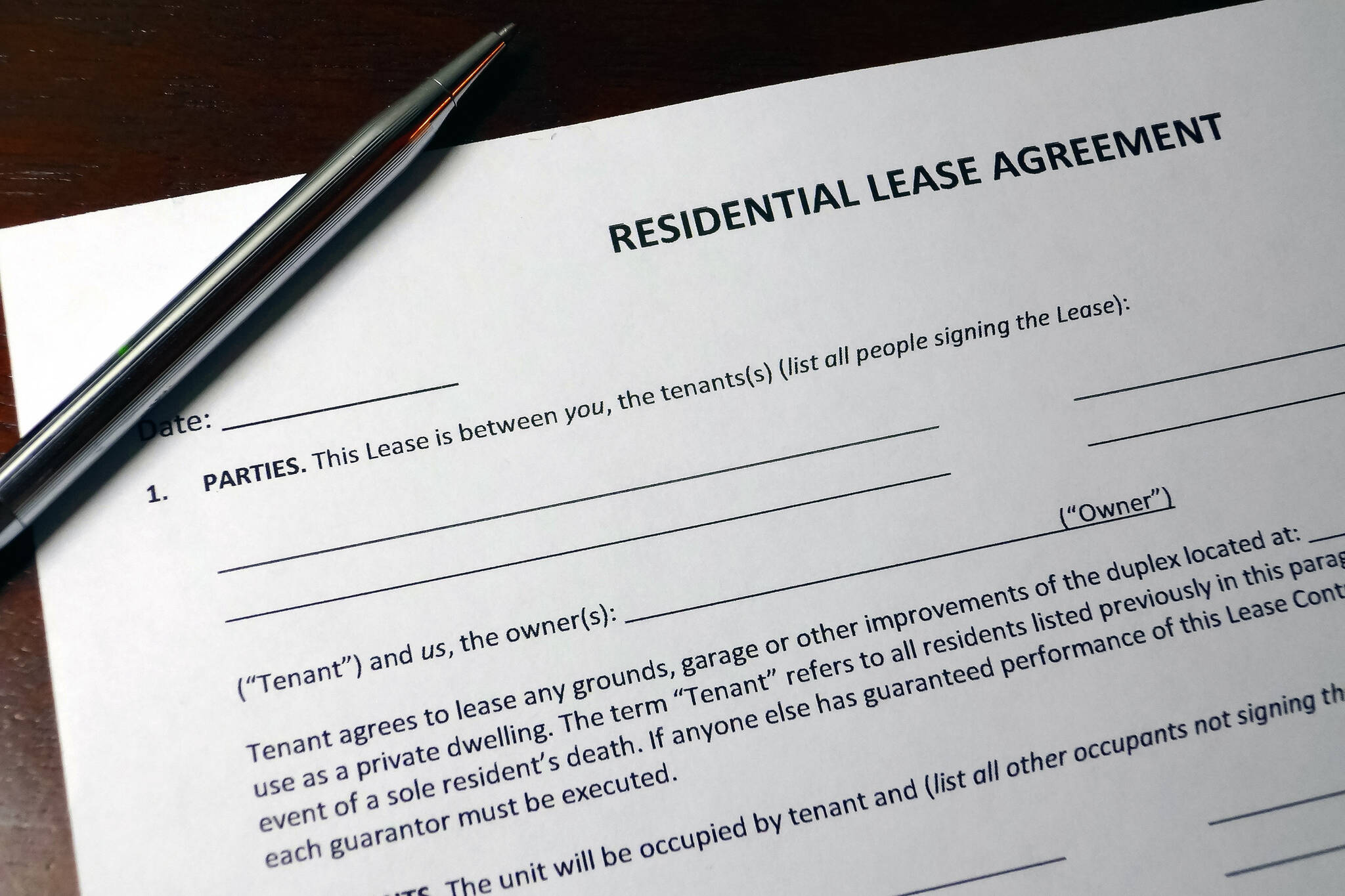 new standardized lease agreement ontario