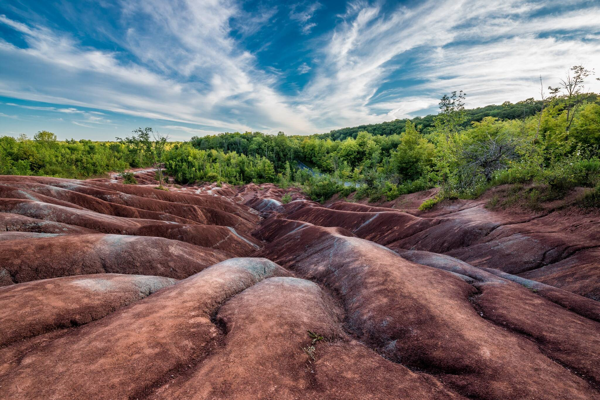 cheltenham badlands open