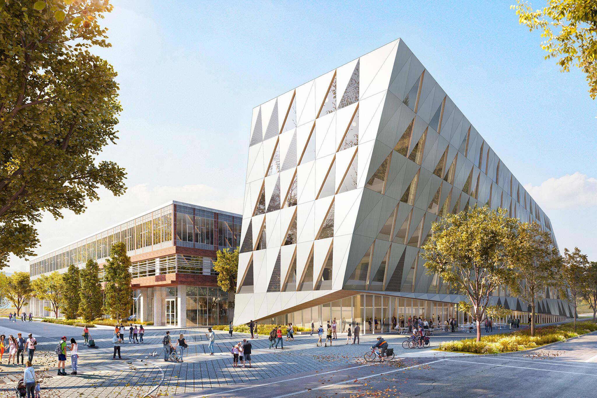 york university scs building