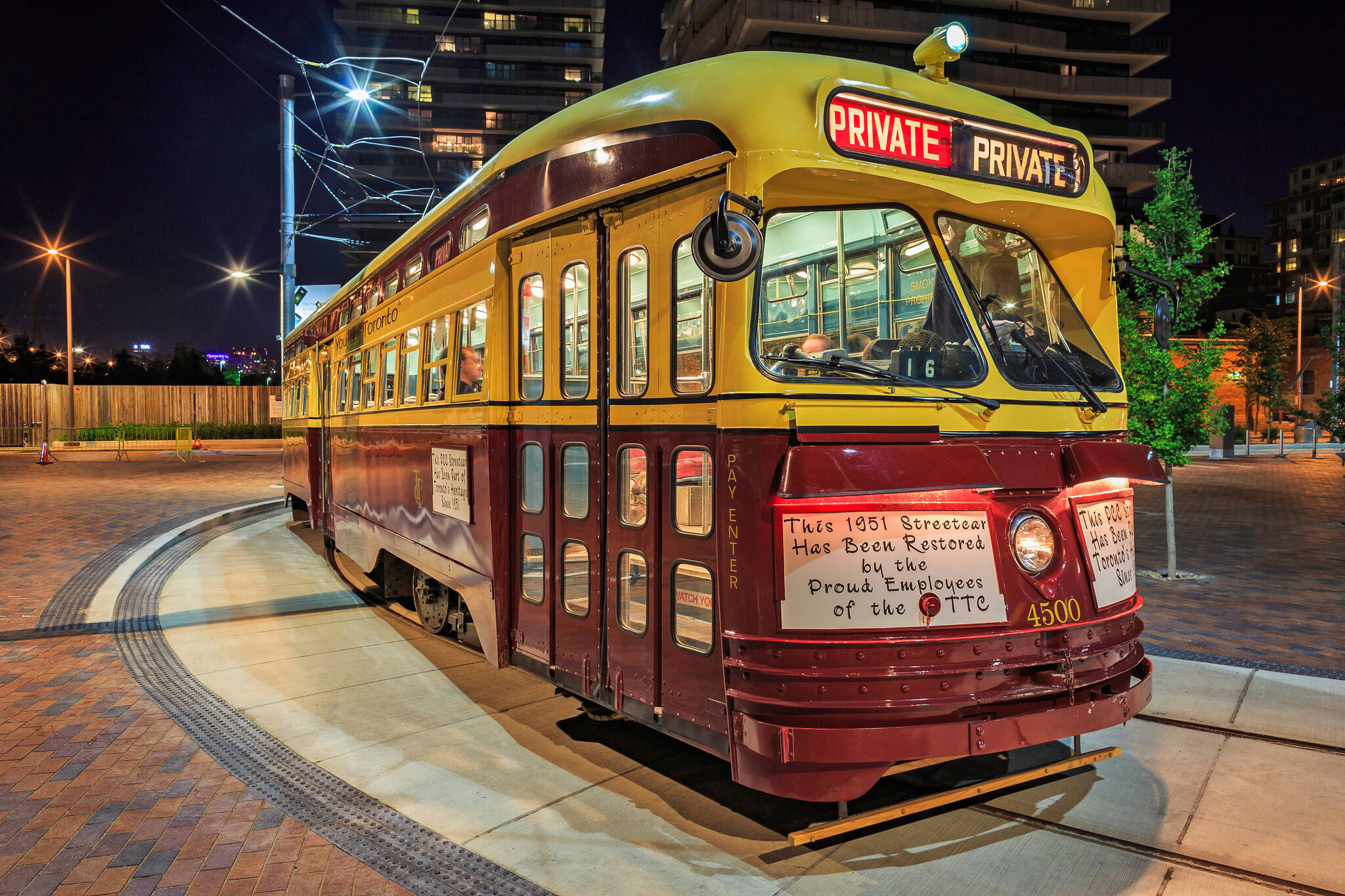 How To Rent Out A Ttc Streetcar In Toronto