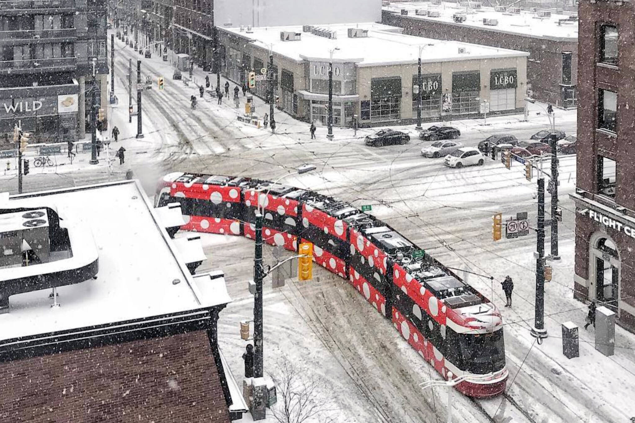 Toronto snow warning