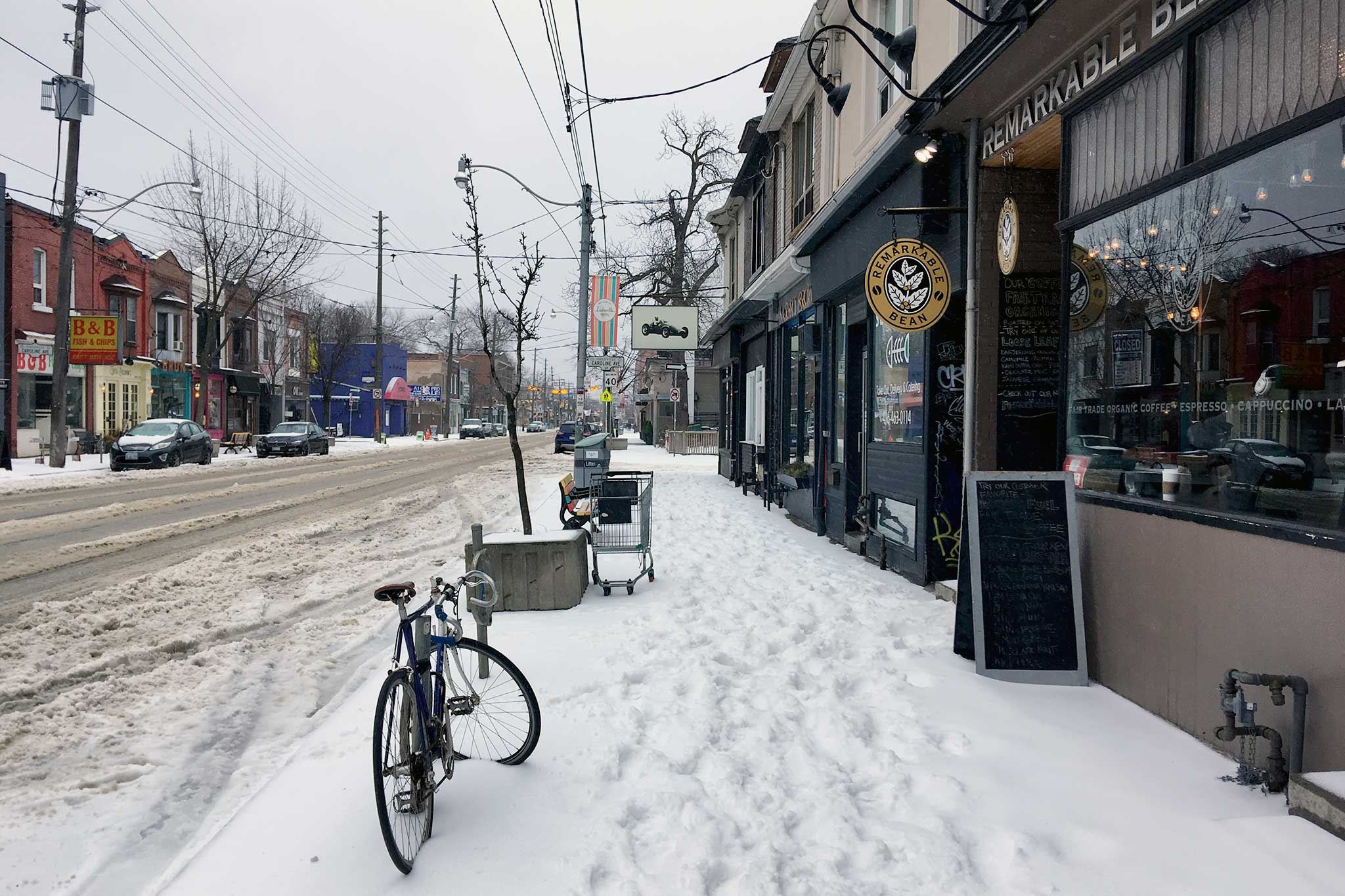 Weather Toronto: Toronto Battered By Snow And Ice As City Reverts To Winter