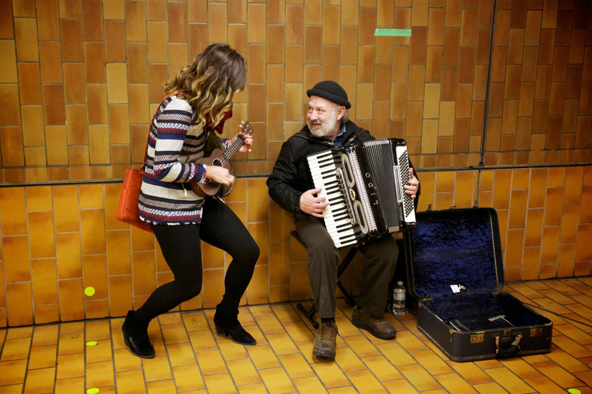 TTC subway musicians