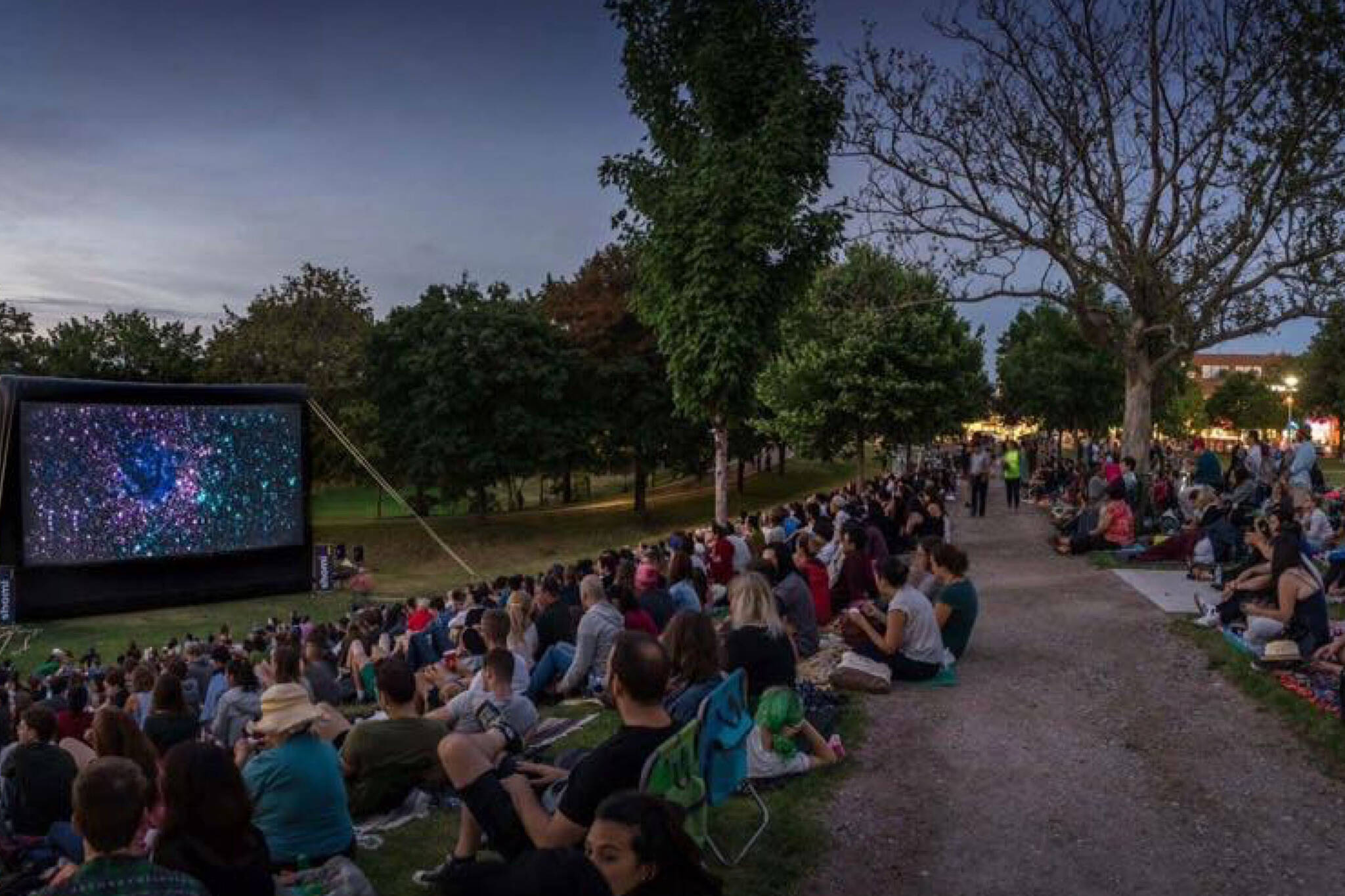 free outdoor movies toronto