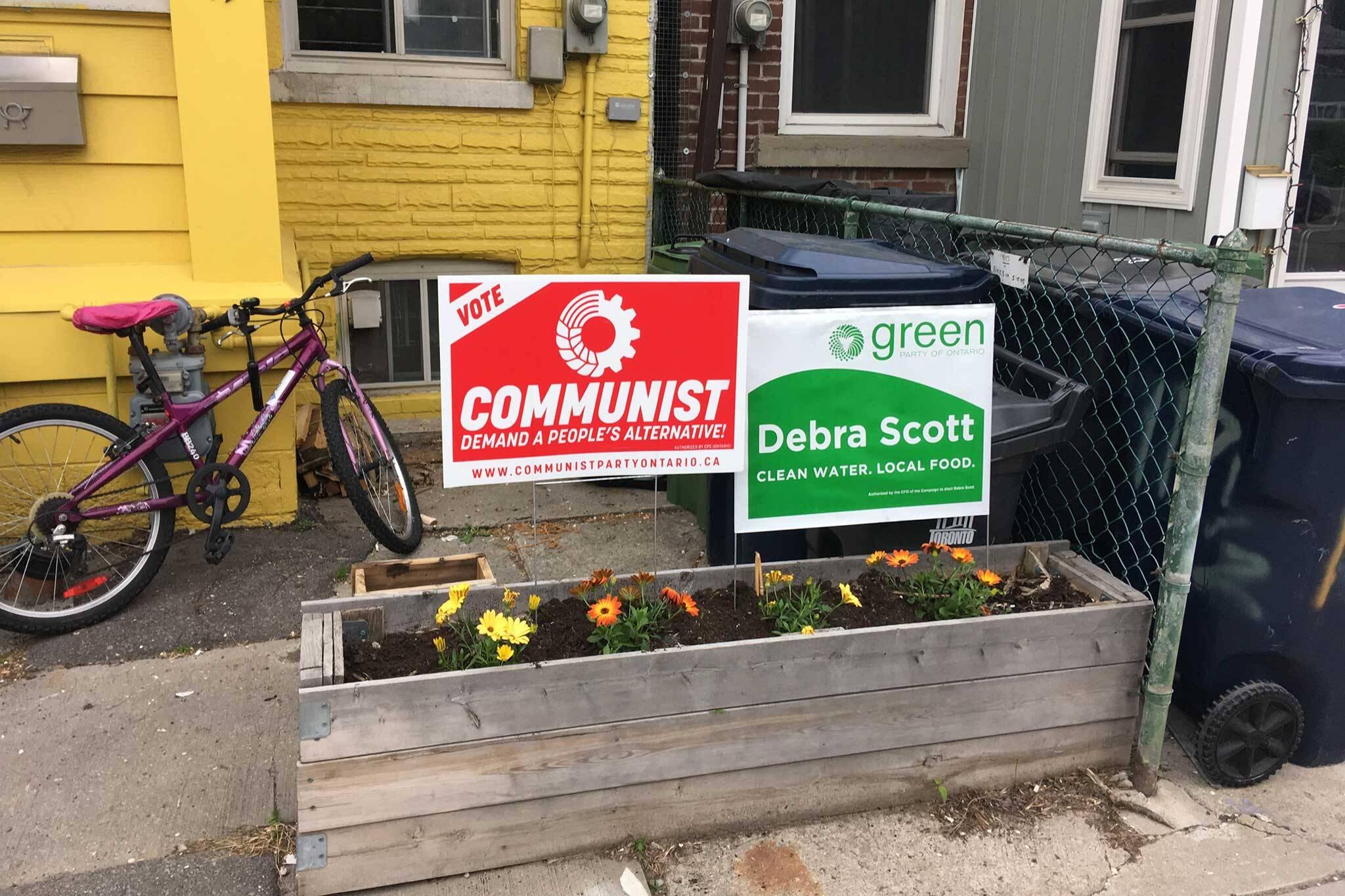 election signs toronto