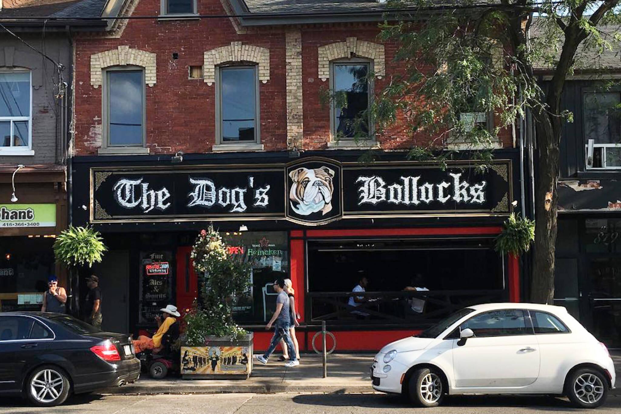 dog bollocks toronto