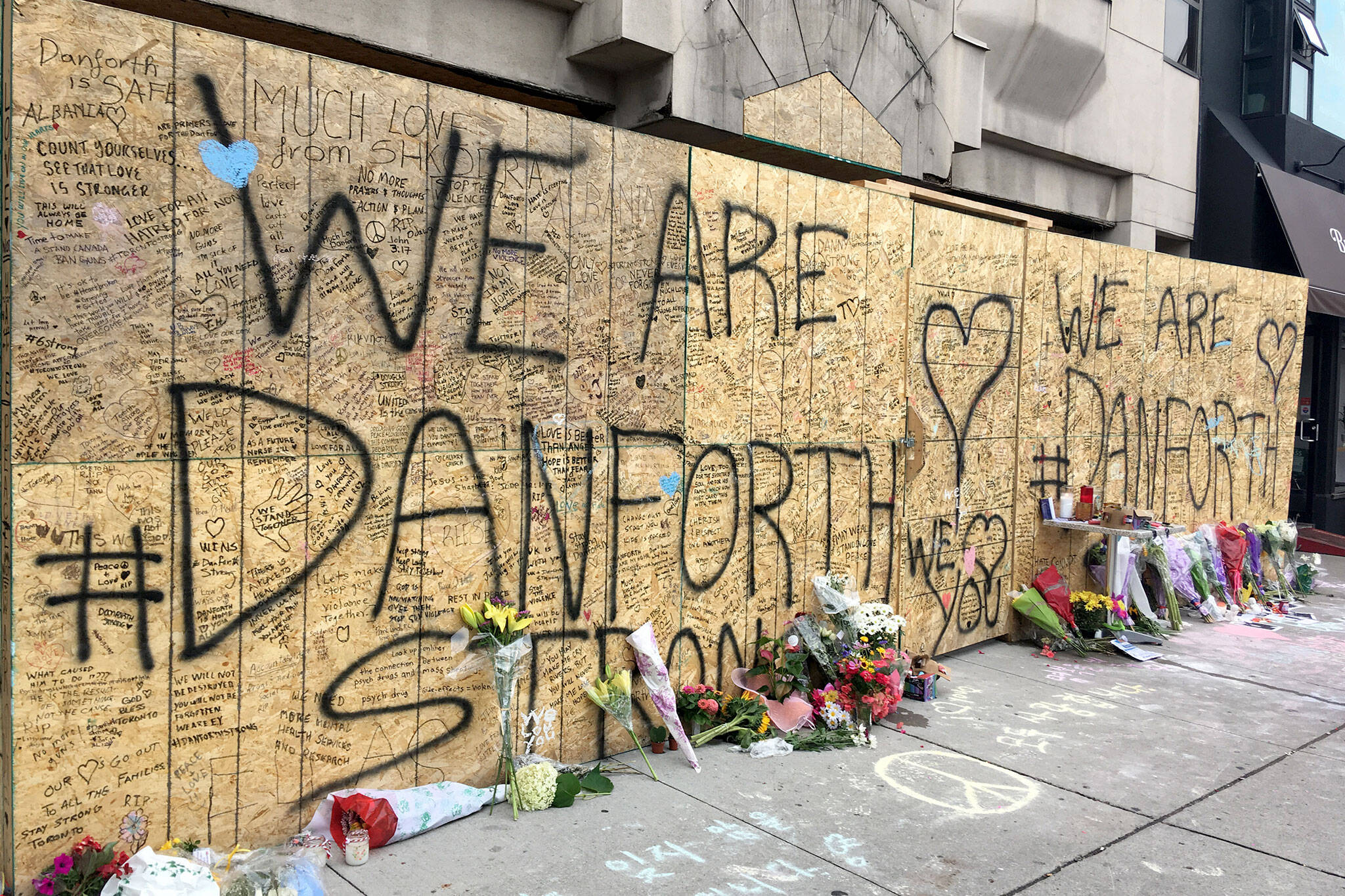 There\'s going to be a moment of silence along the Danforth tonight