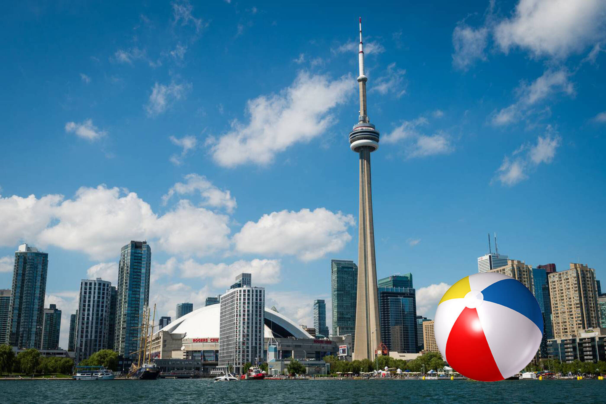 Toronto Is Getting A Giant Beach Ball On The Waterfront