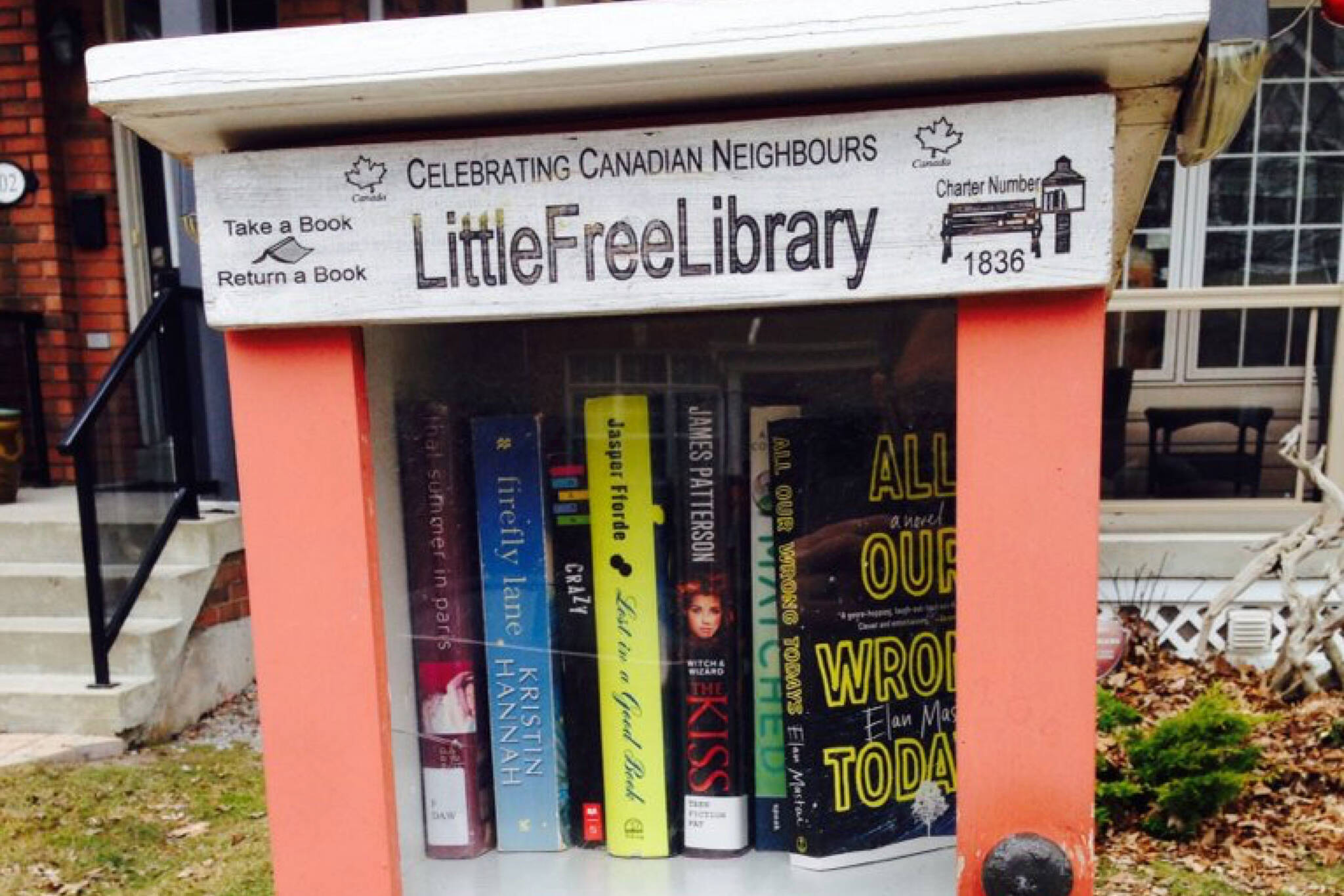 little free libraries toronto