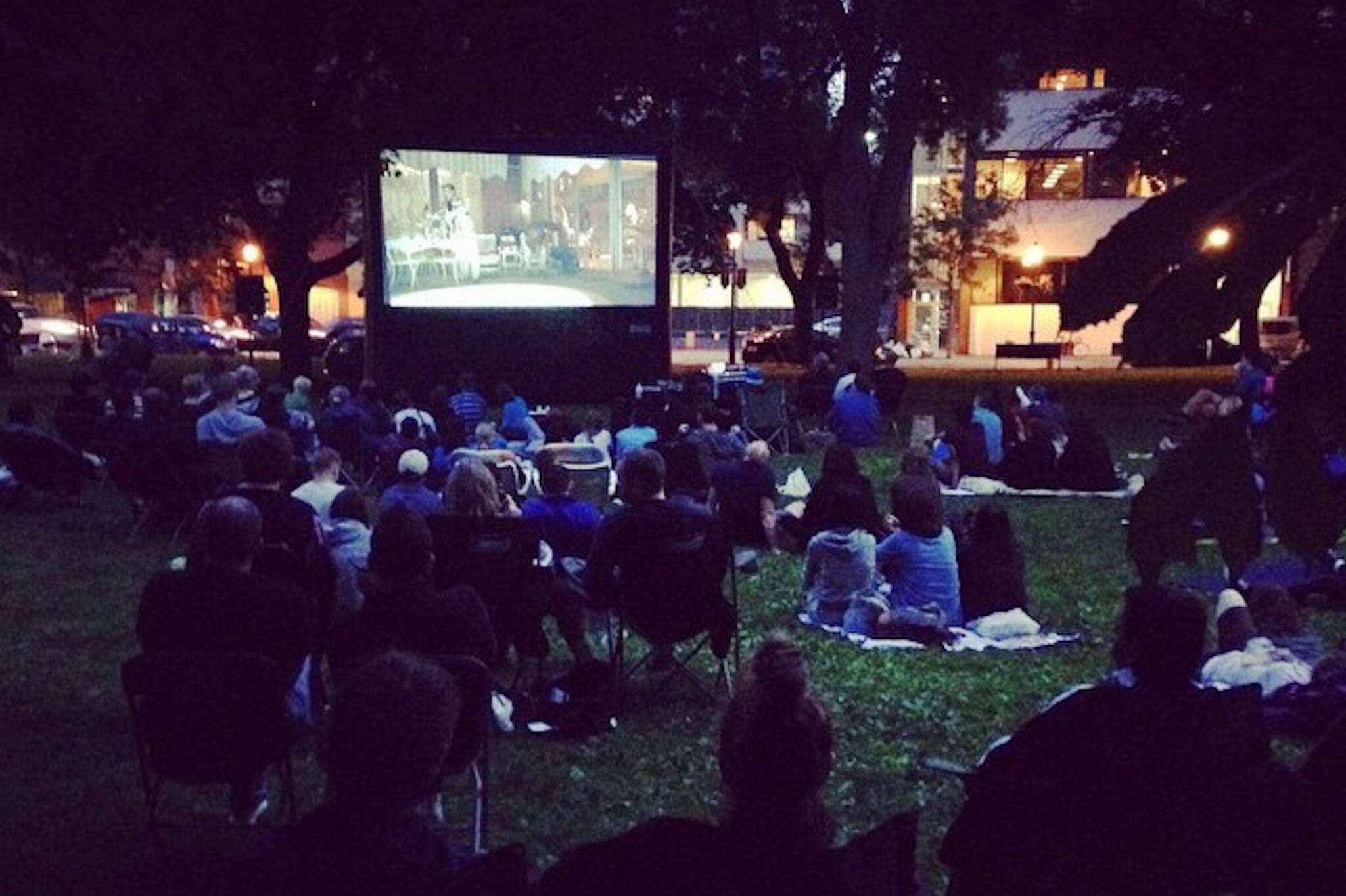 movies in st james park