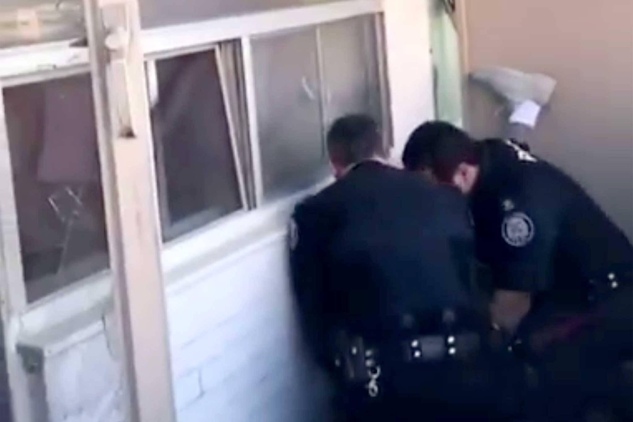 Toronto police video
