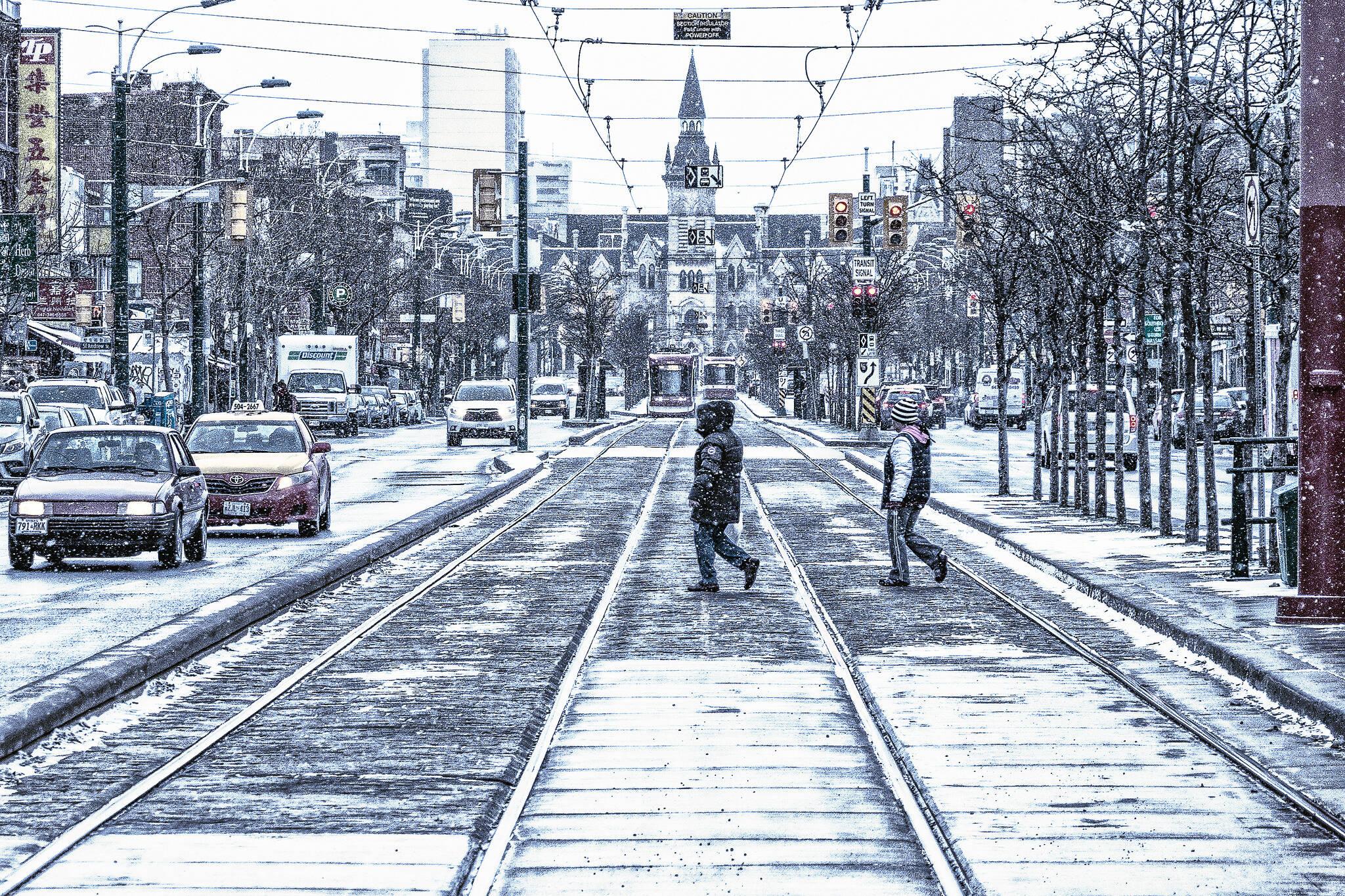 toronto snow january