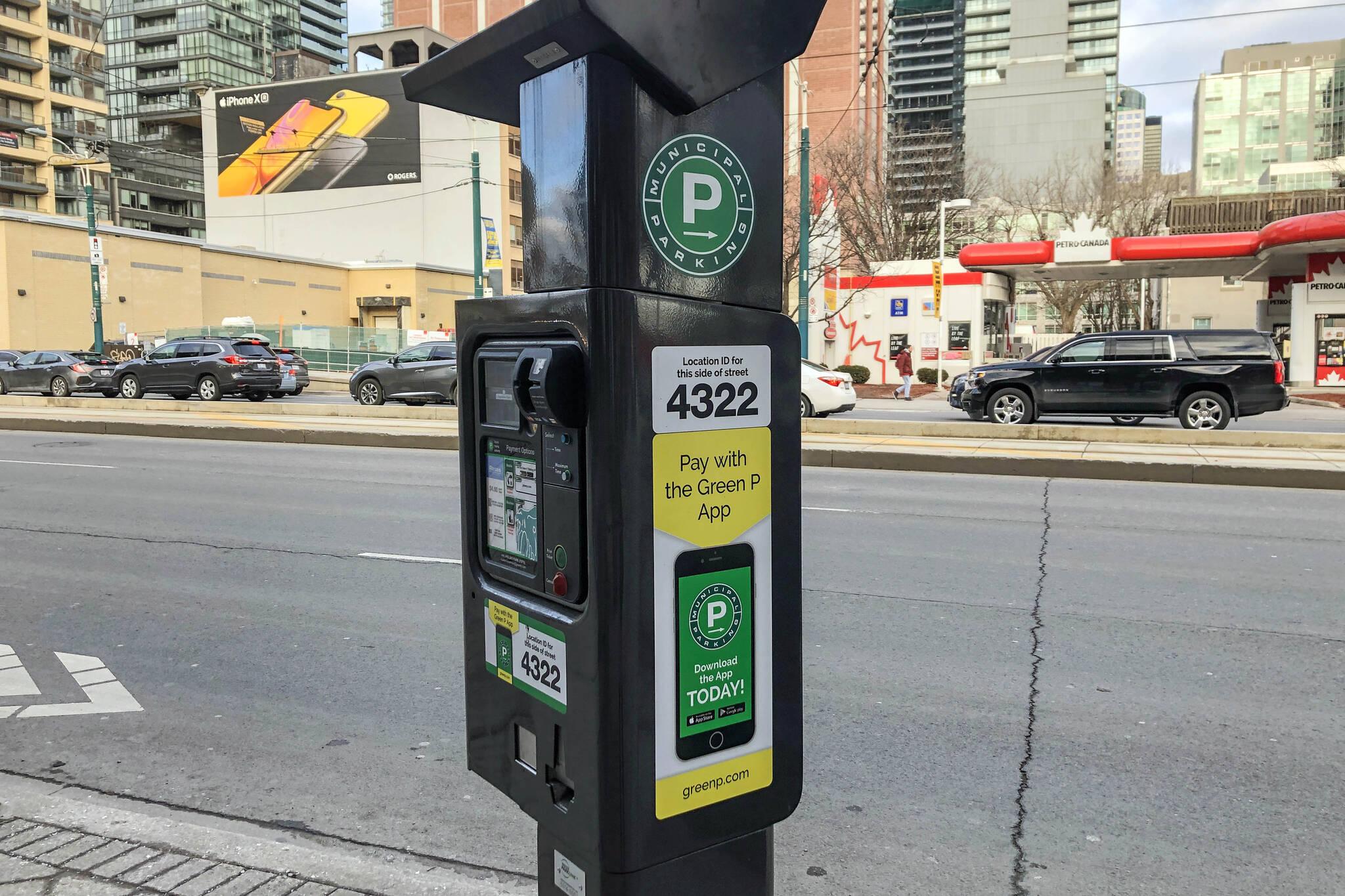 parking rates toronto