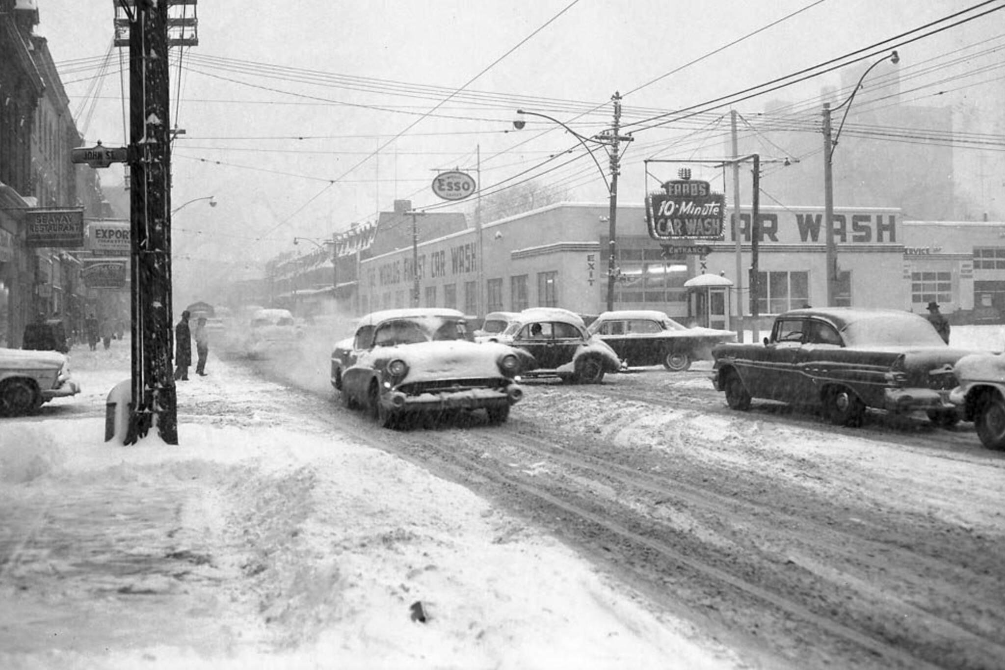 worst winter toronto history