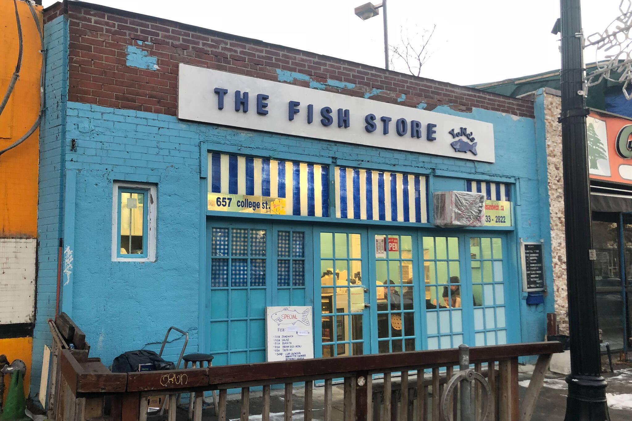 fish store toronto