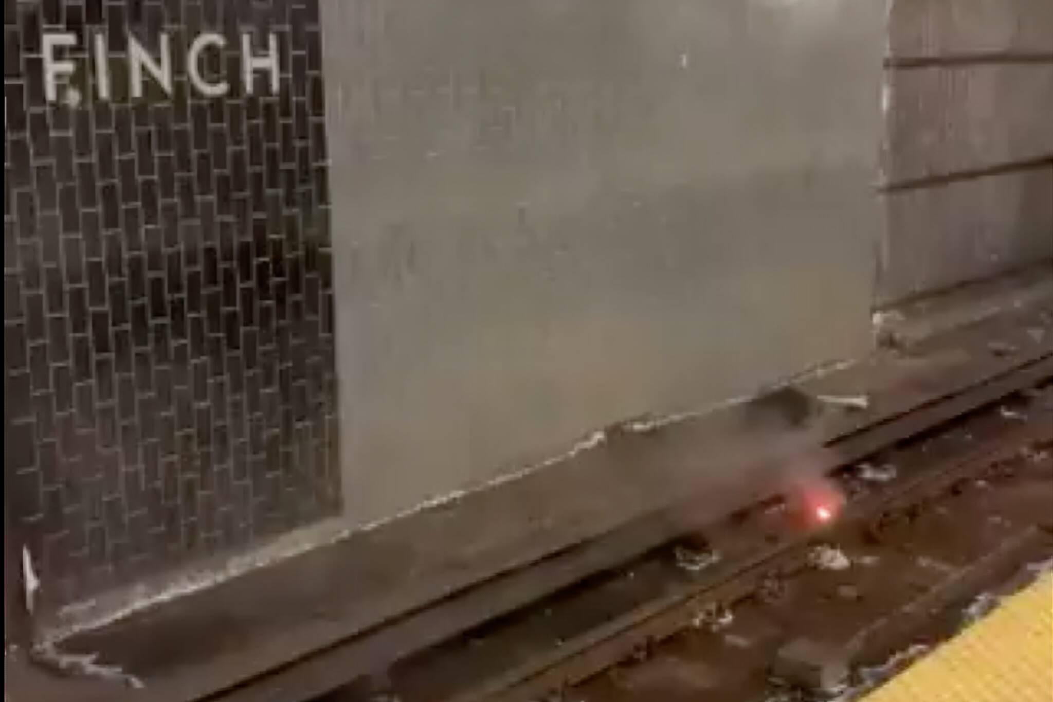 ttc subway fire