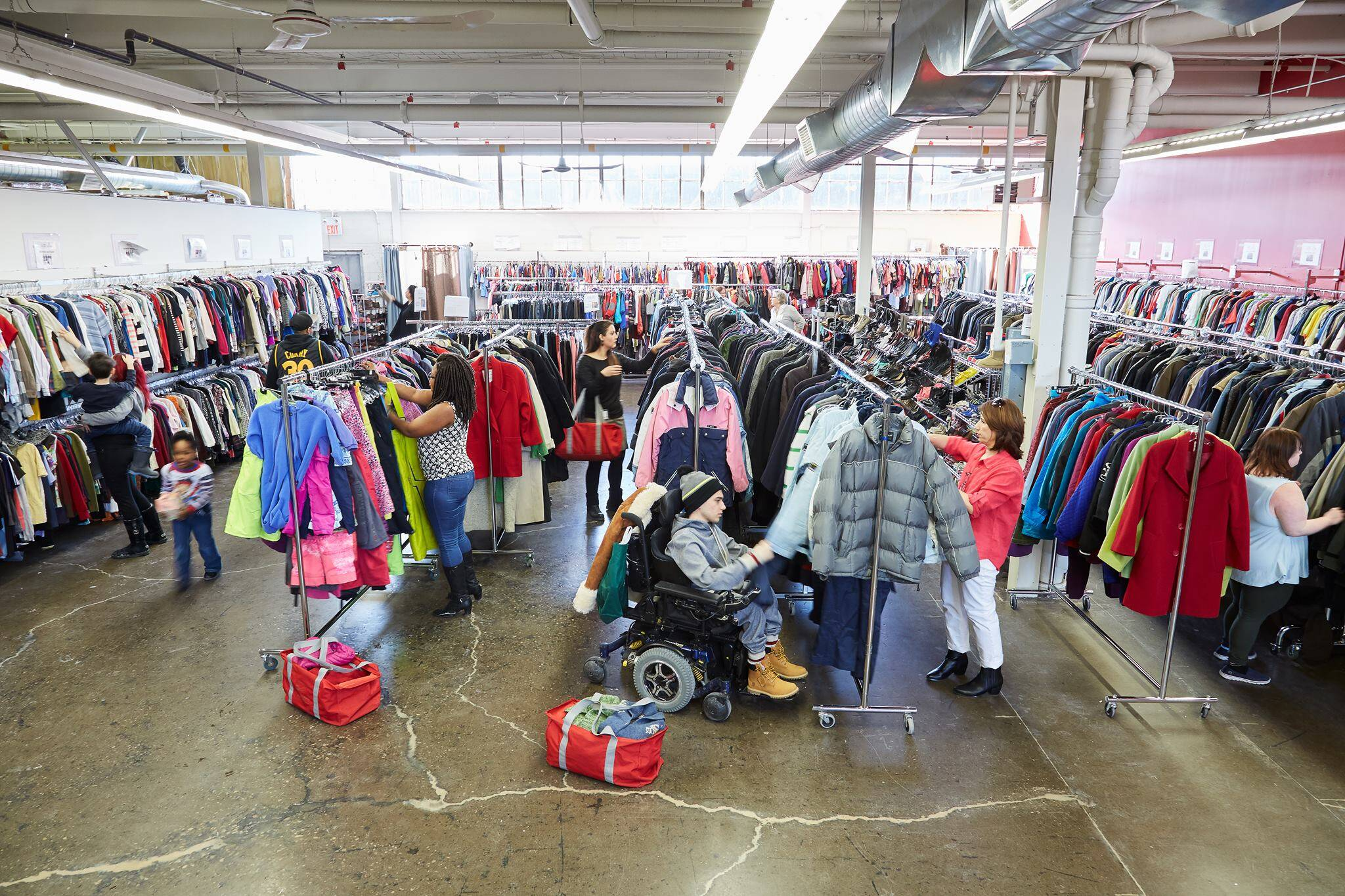 donate used clothing toronto