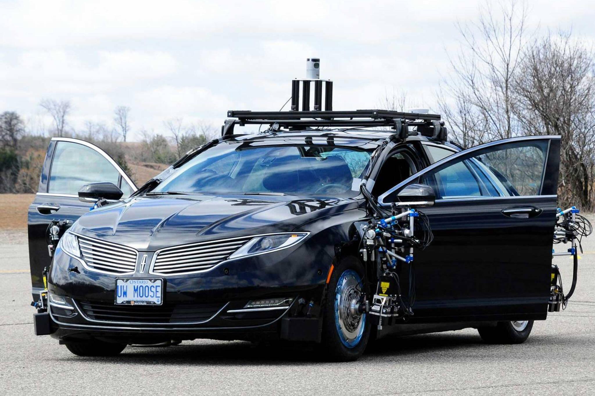 driverless cars ontario