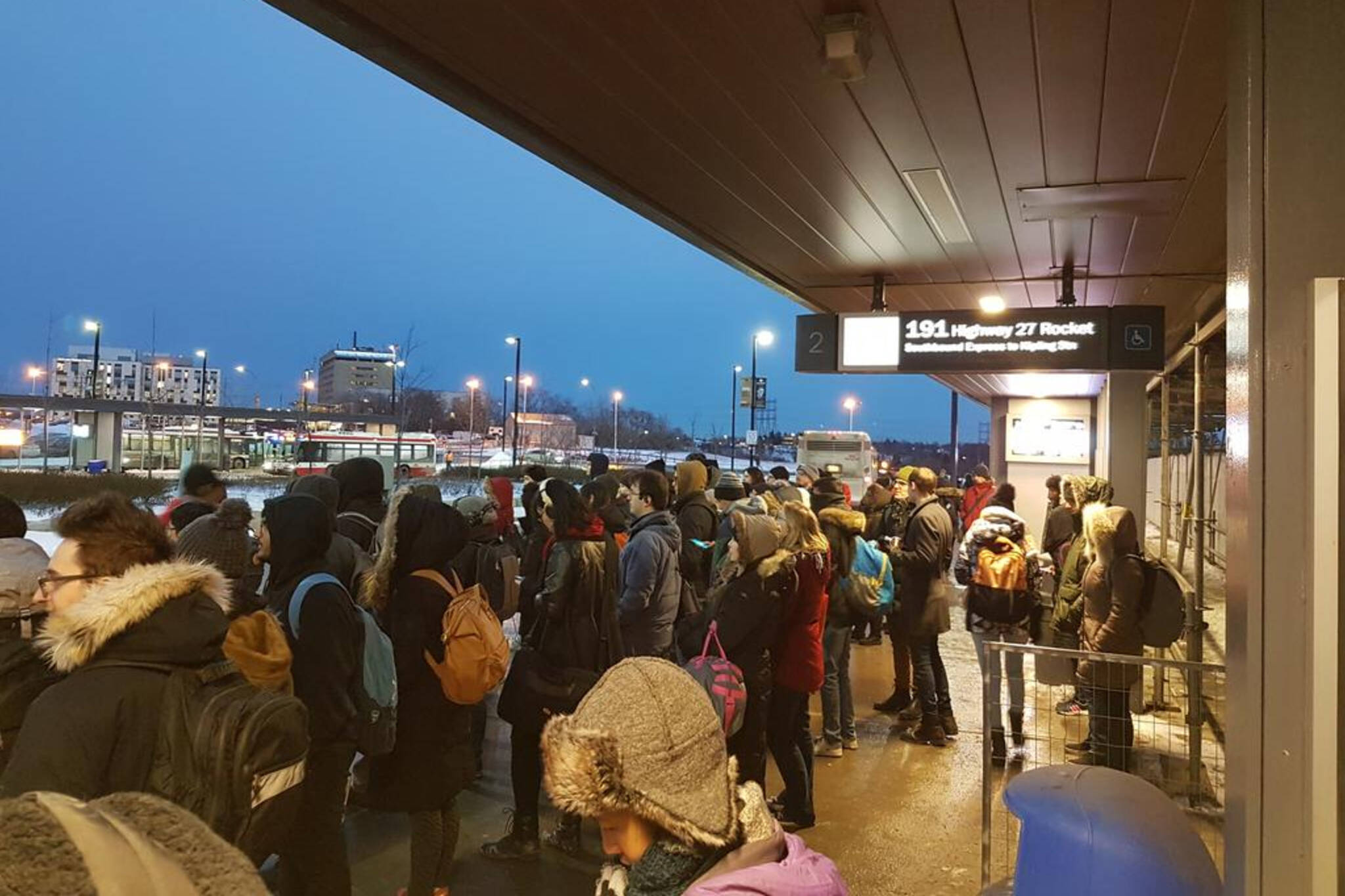toronto transit delays