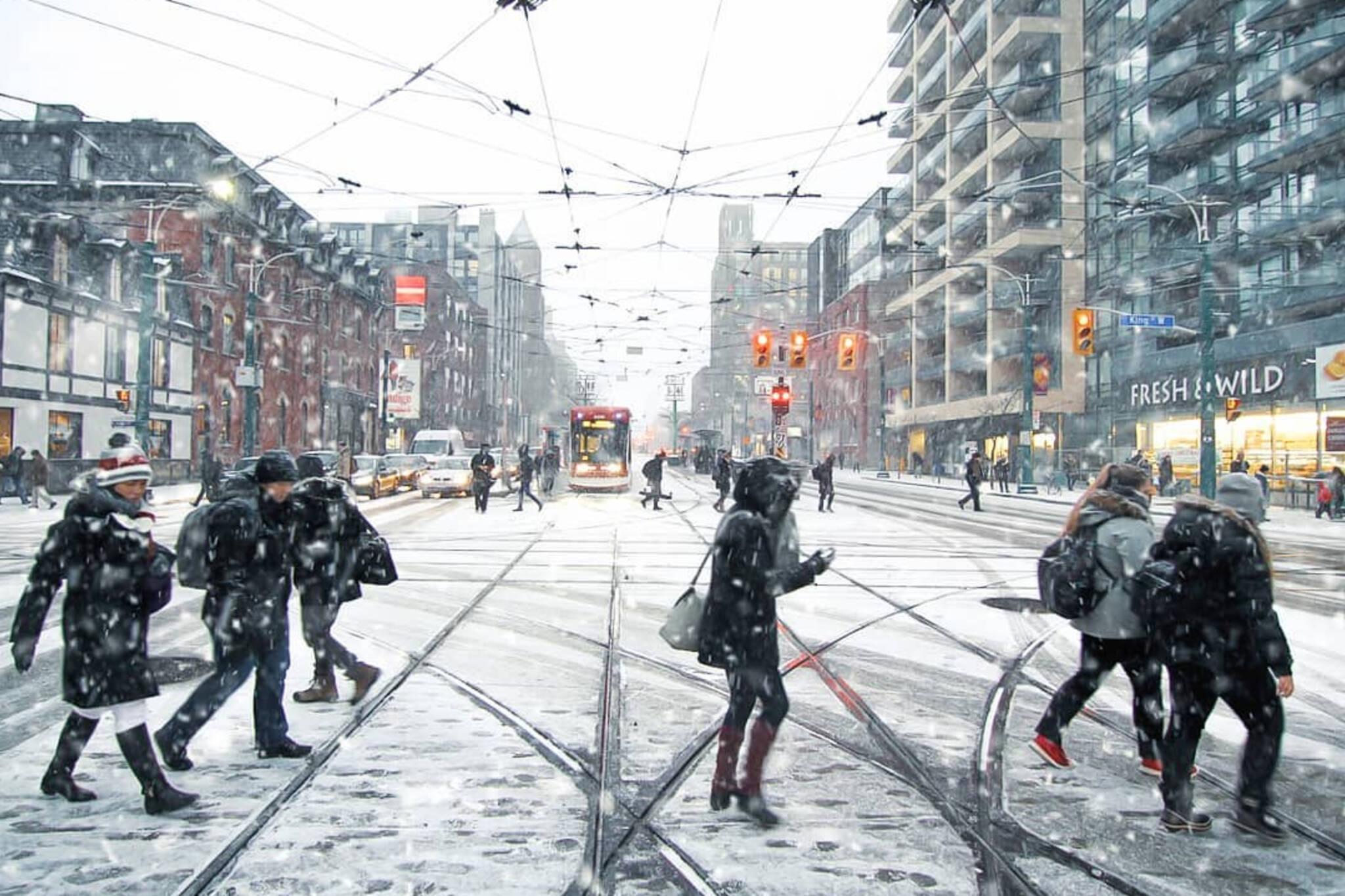 Toronto winter weather