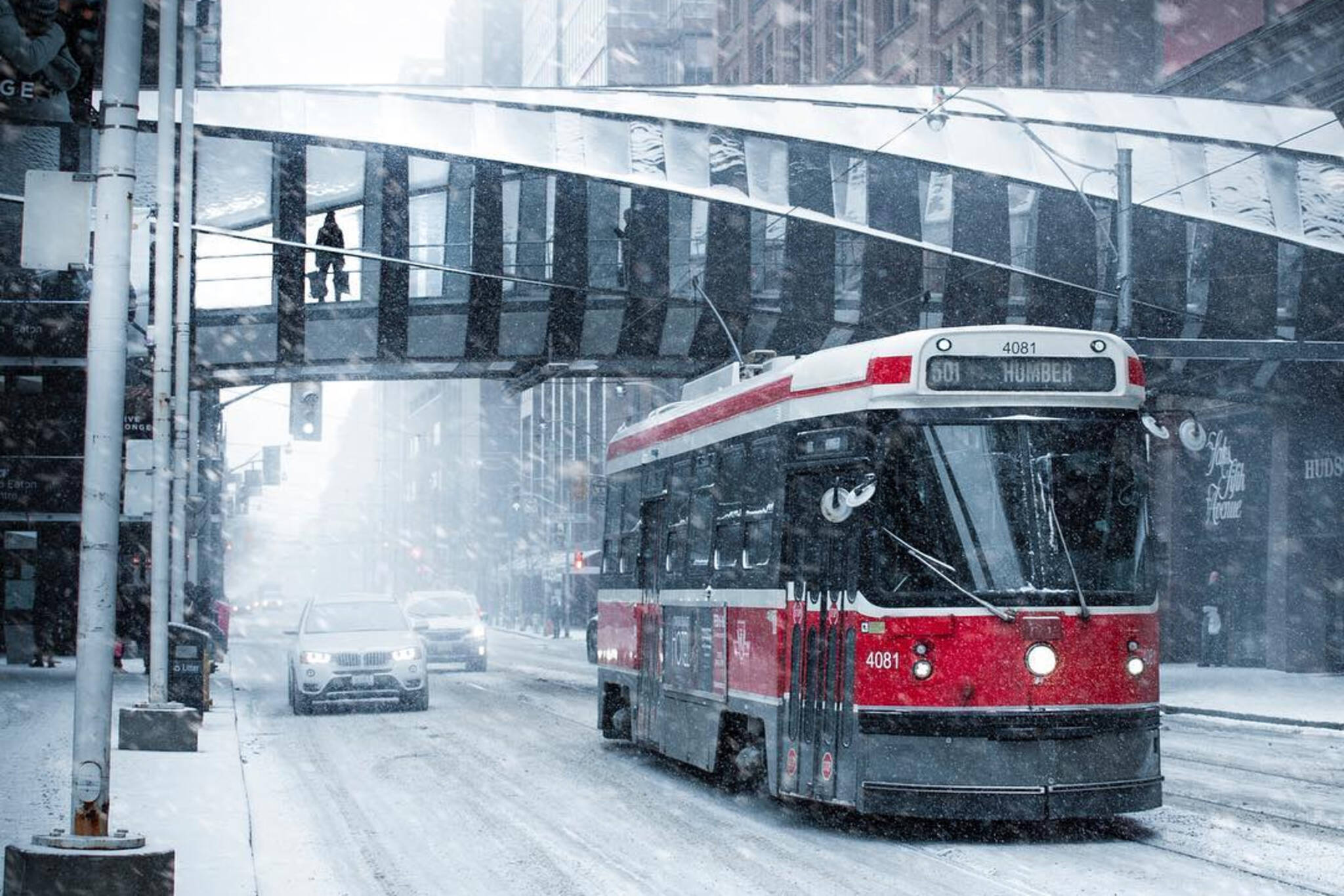 Toronto snow closures