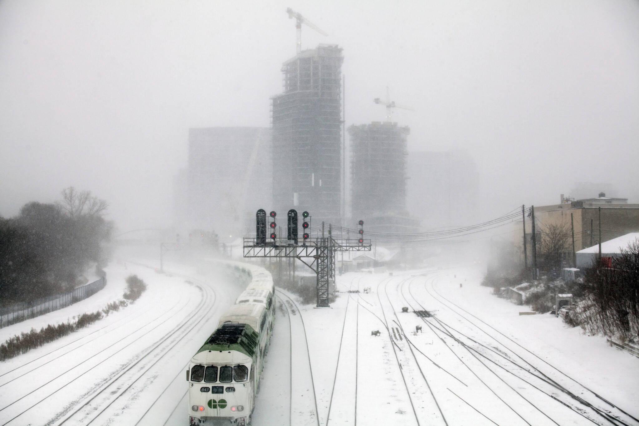 extreme cold Toronto