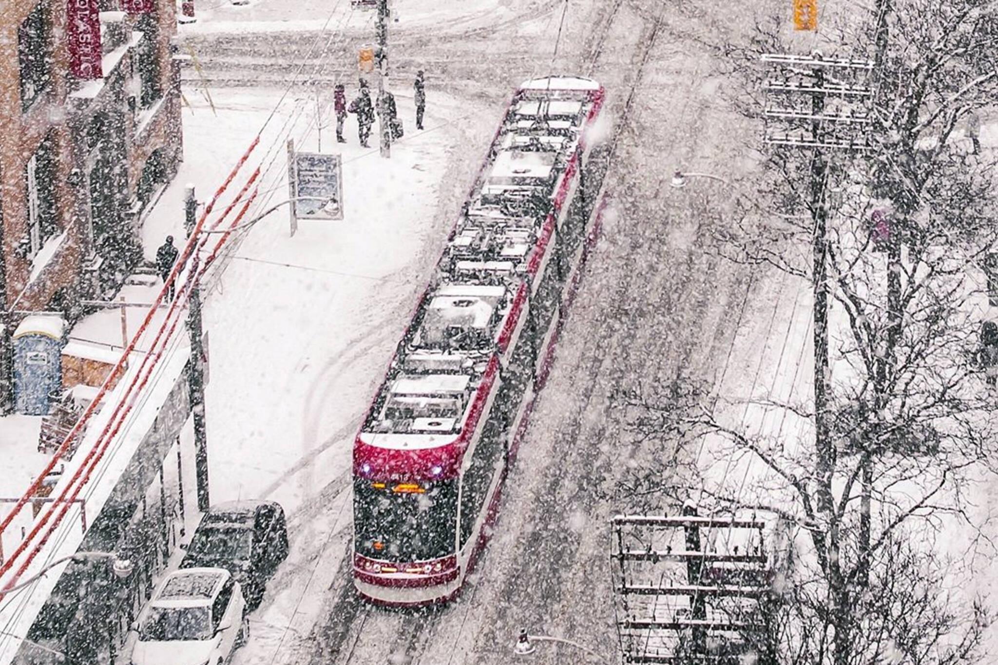 toronto weather snow