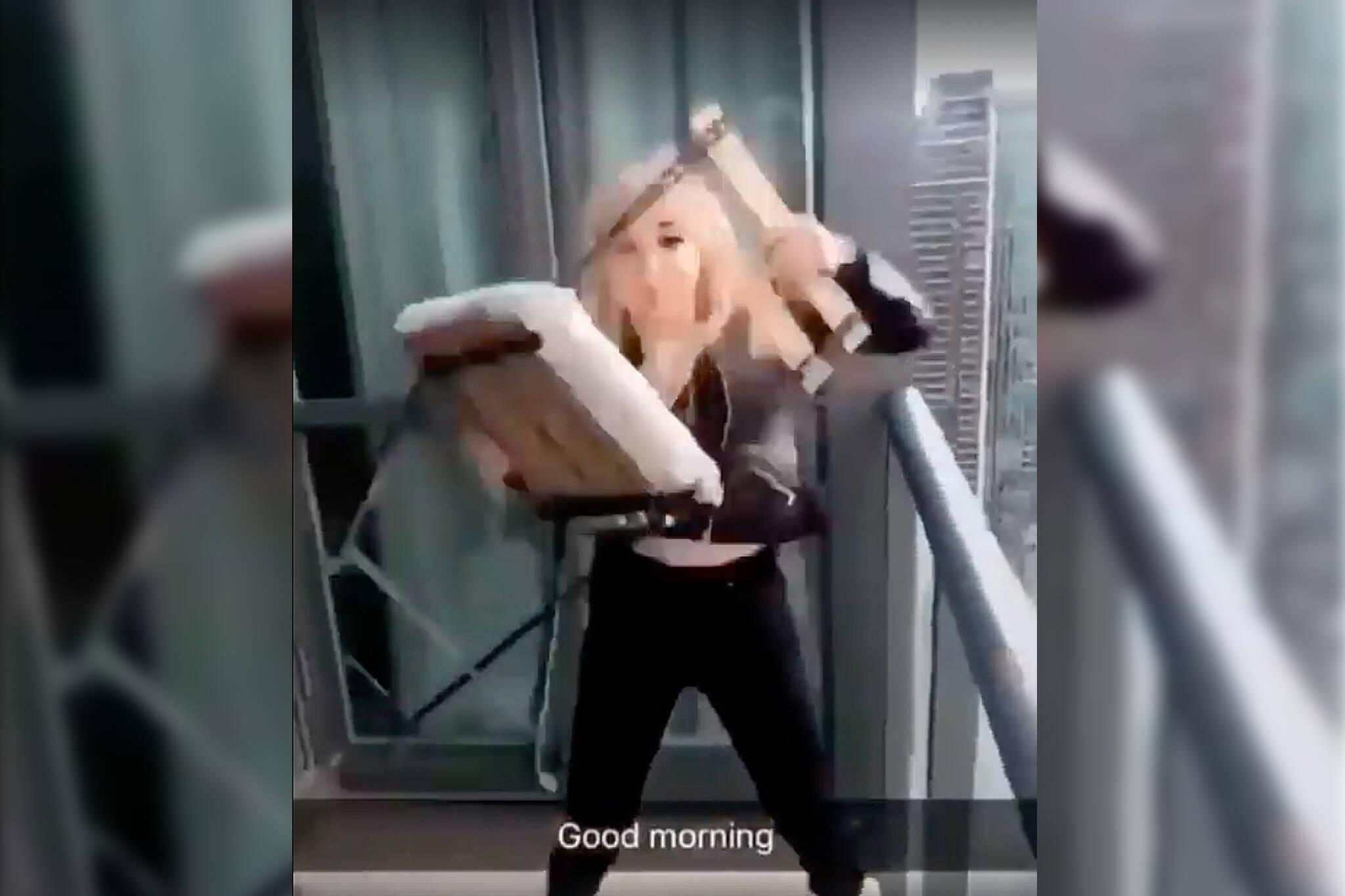 Toronto Police Identify Woman Who Threw Chair From Balcony