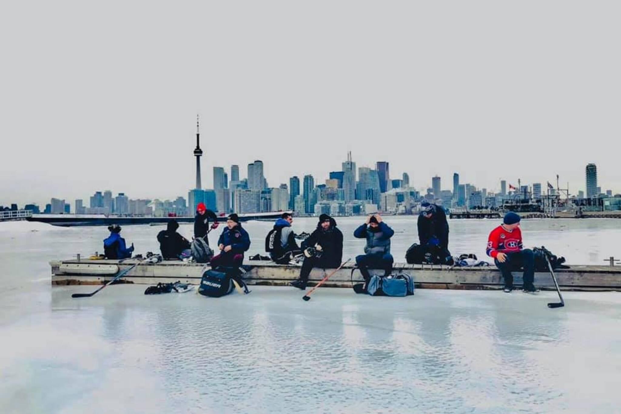 lake ontario skating toronto