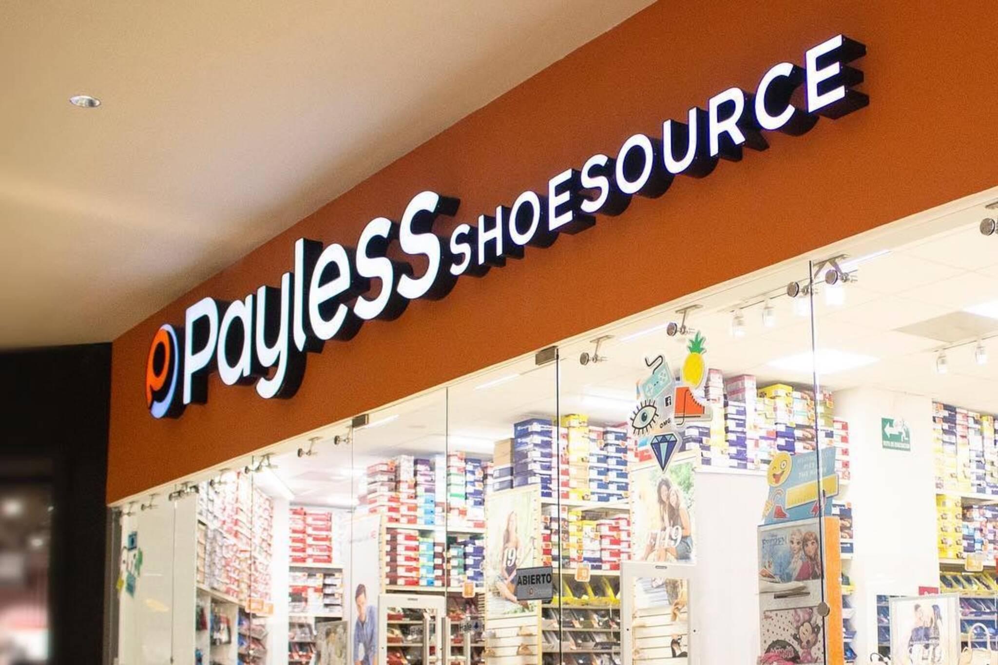 payless closing canada