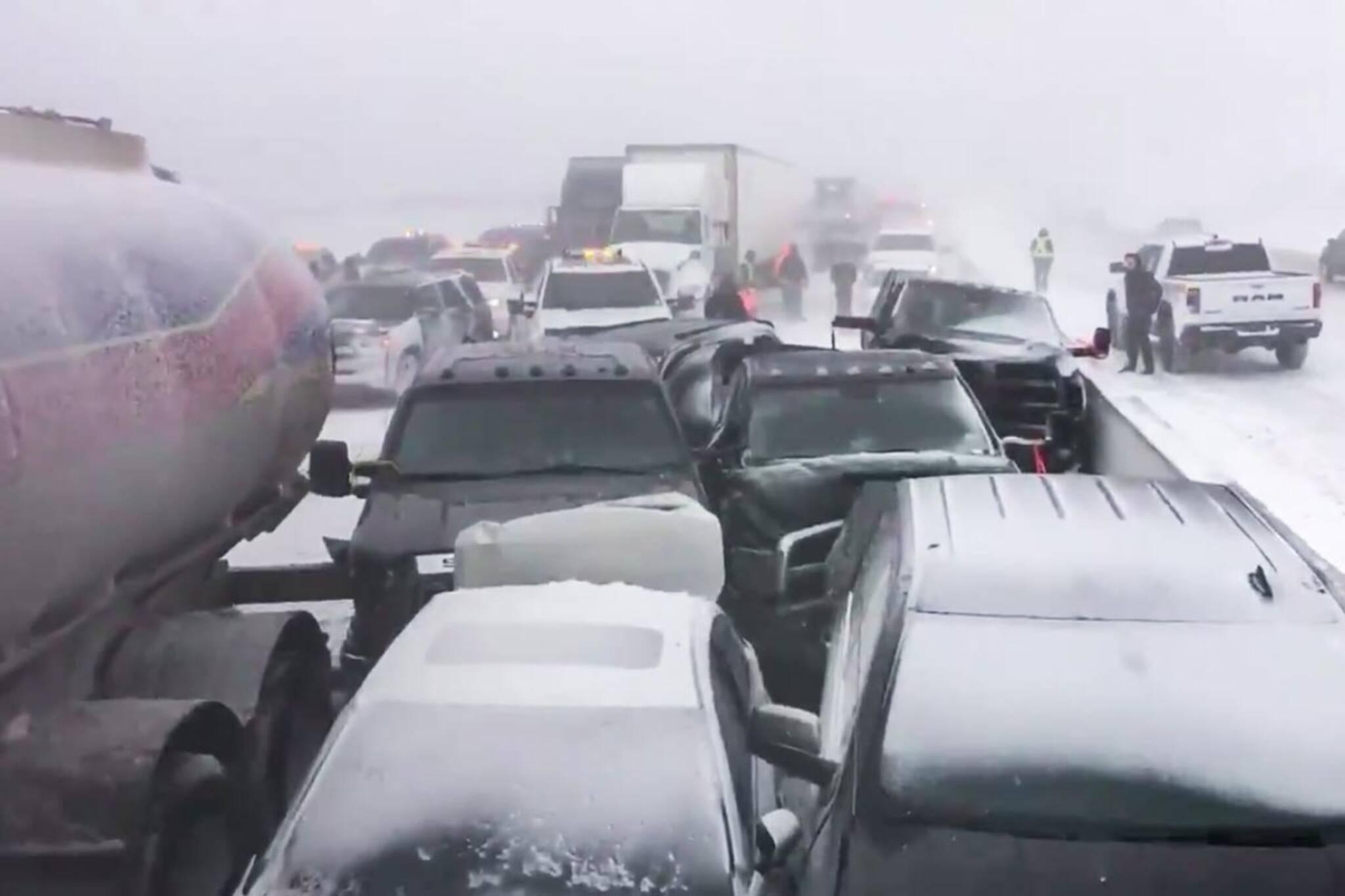 400 highway crash