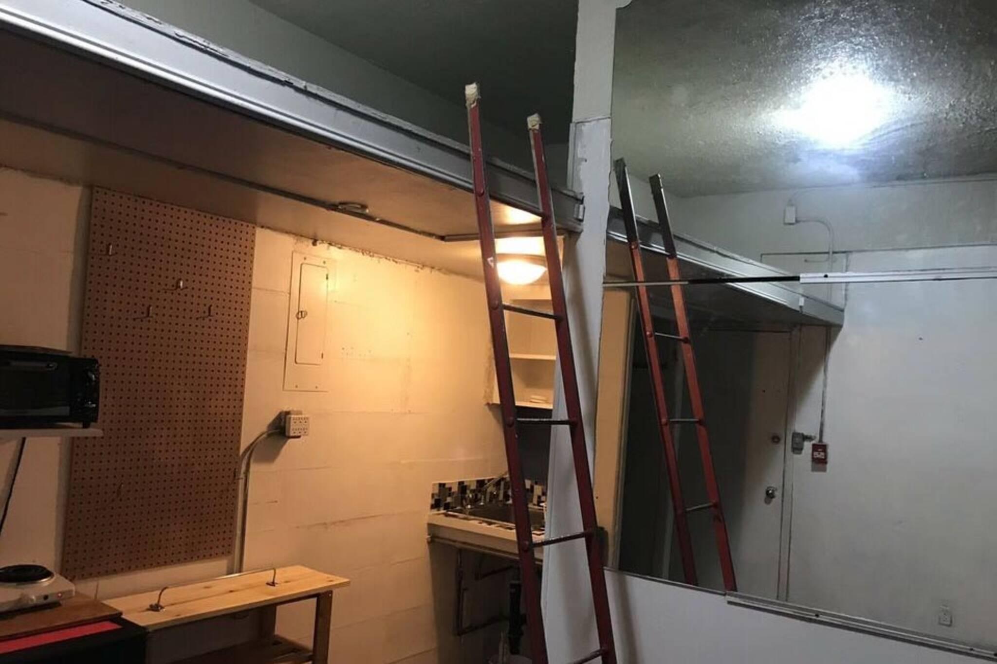 toronto apartment shelf