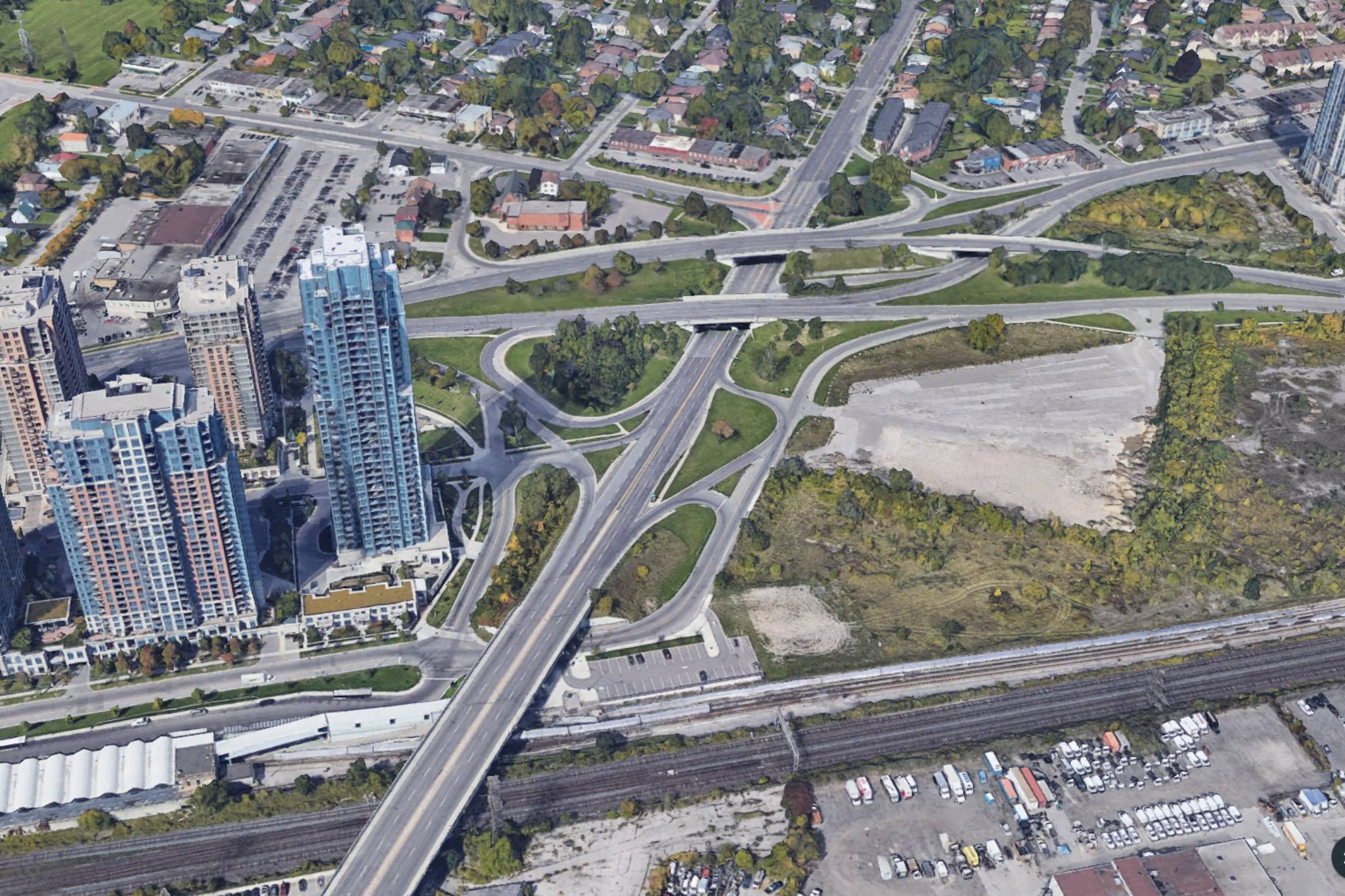 Toronto construction closures