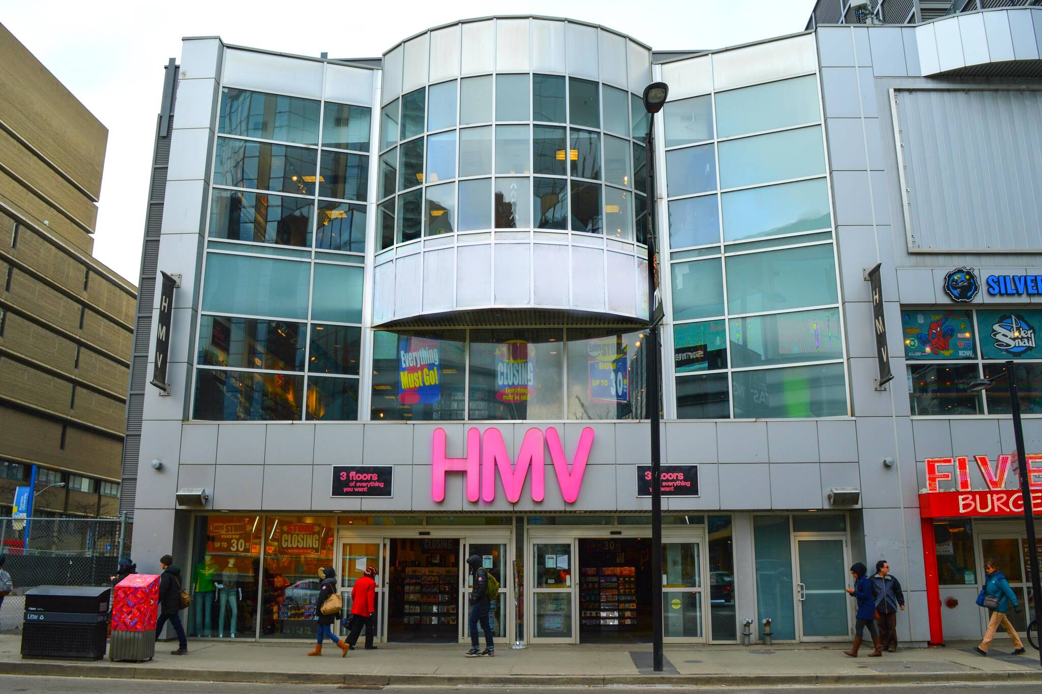 The Former Hmv On Yonge Is Turning Into A Cannabis Dispensary